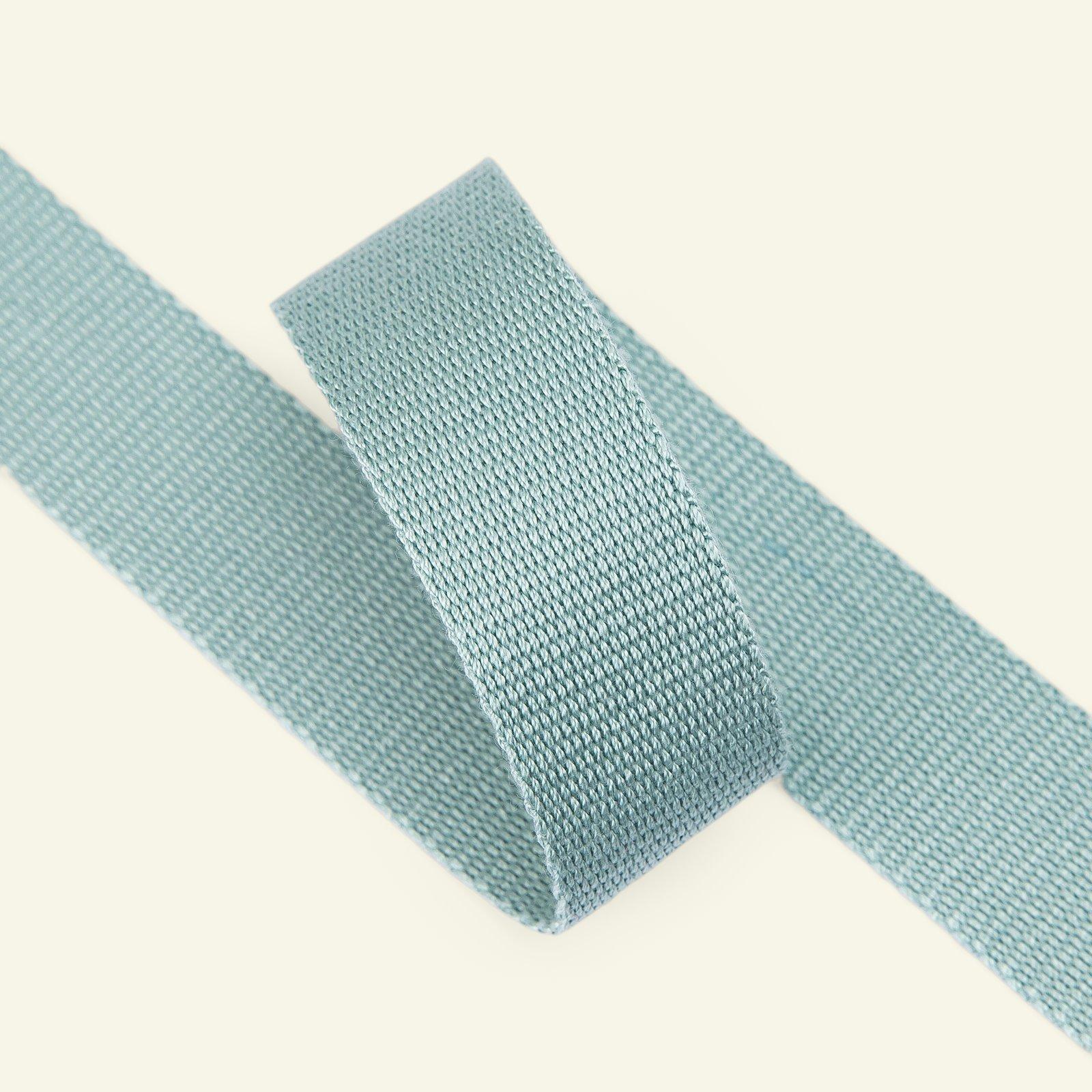 Ribbon woven 25mm dusty aqua 3m 22309_pack