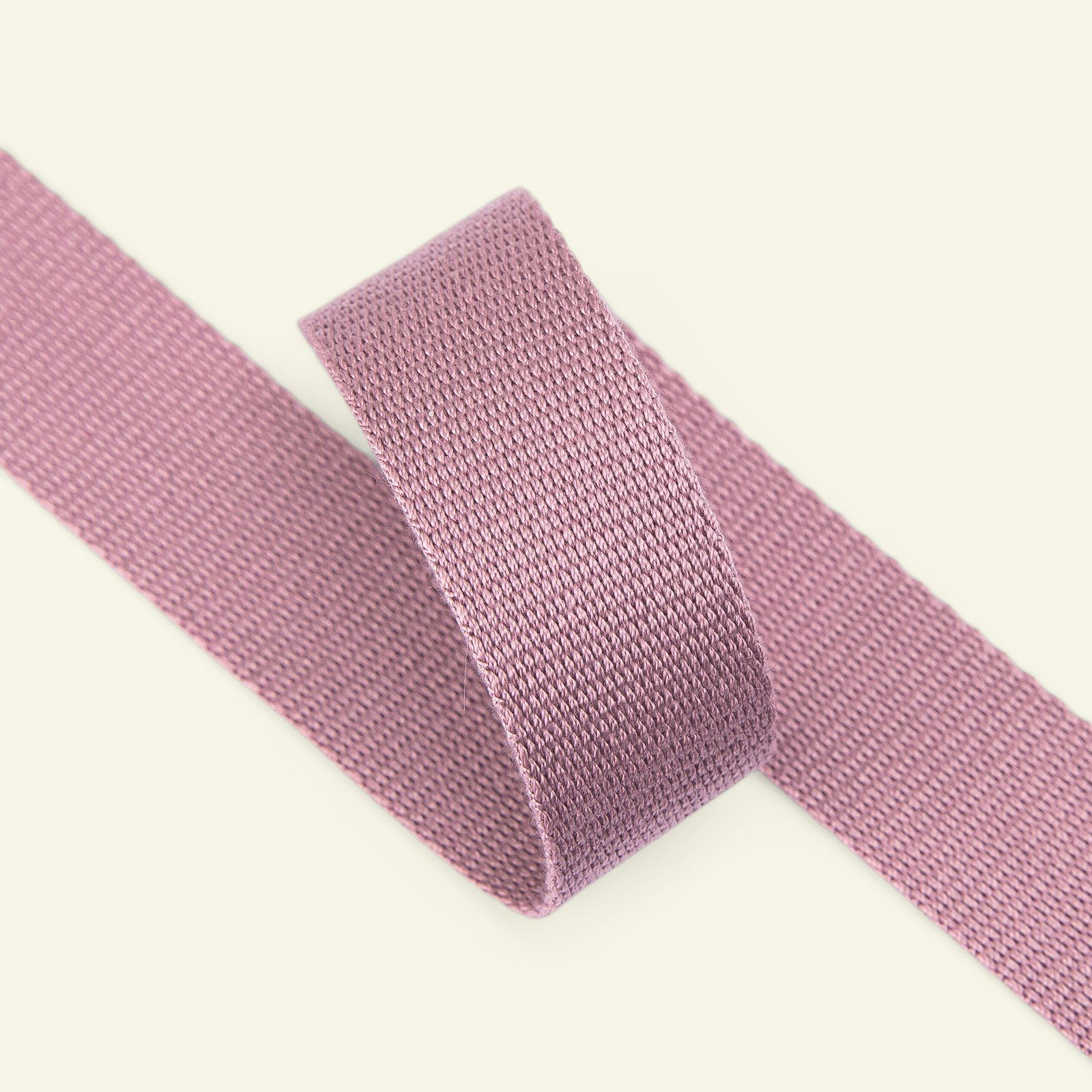 Ribbon woven 25mm dusty heather 3m 22303_pack