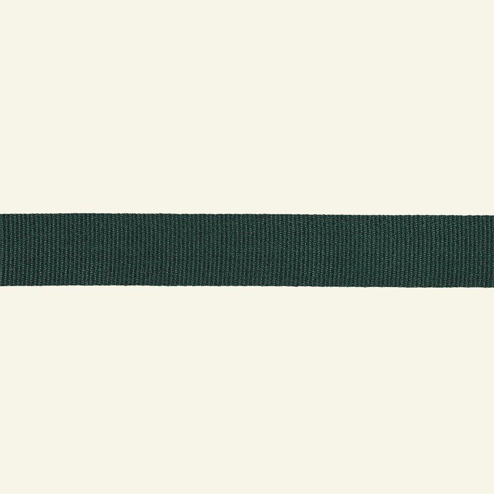 Ribbon woven 38mm dark green 3m 21324_pack