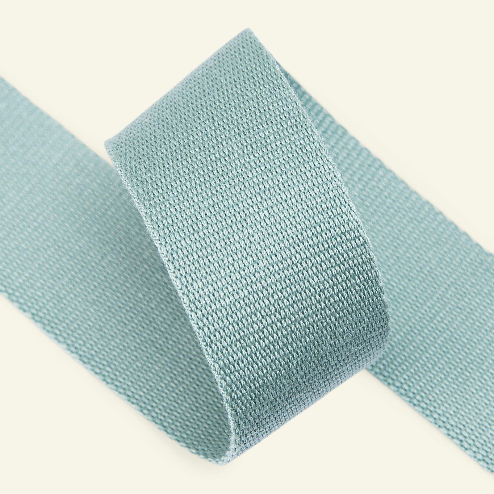 Ribbon woven 38mm dusty aqua 3m 22311_pack