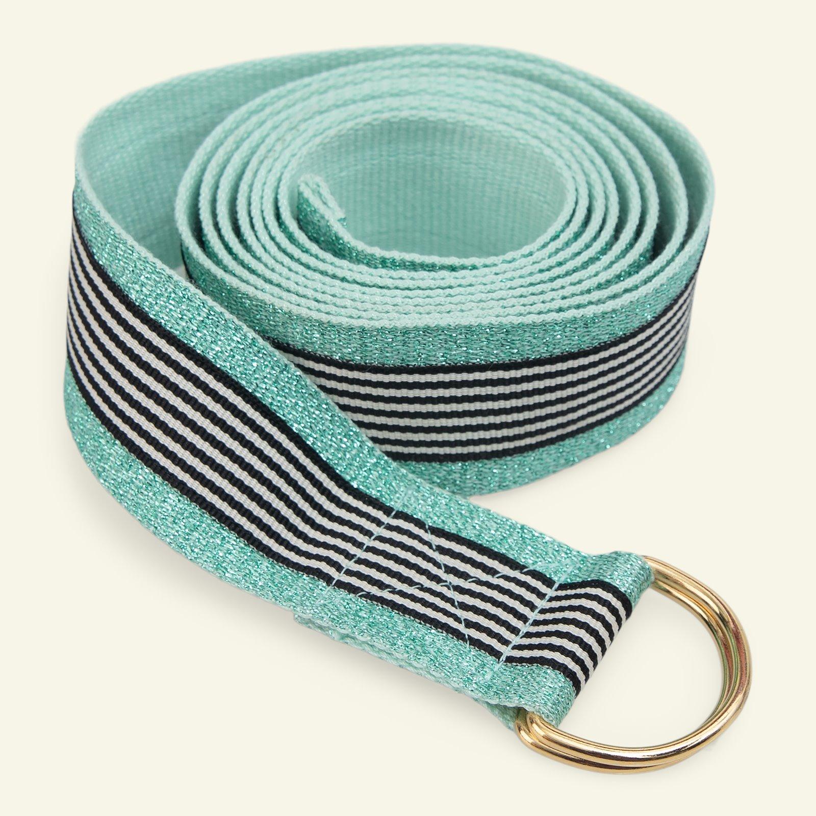 Ribbon woven 38mm mint/mint lurex 2m p1000000547_21360_21330_45519_sskit