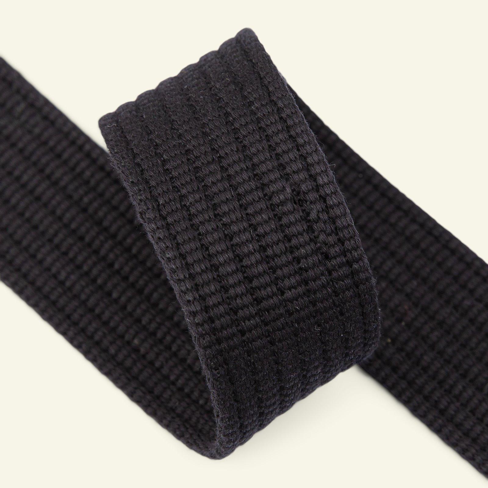 Ribbon woven 40mm black 2m 22406_pack
