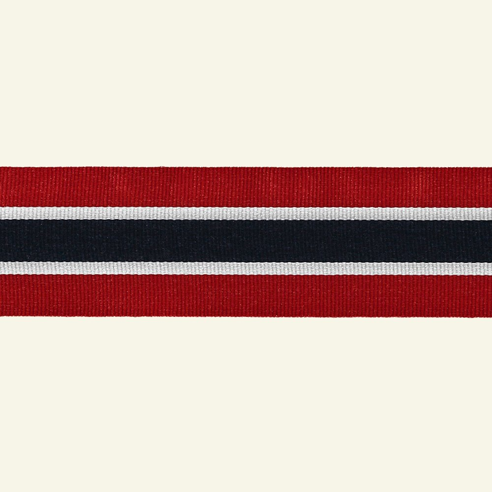 Ribbon woven 40mm Norway 3 m 20622_pack