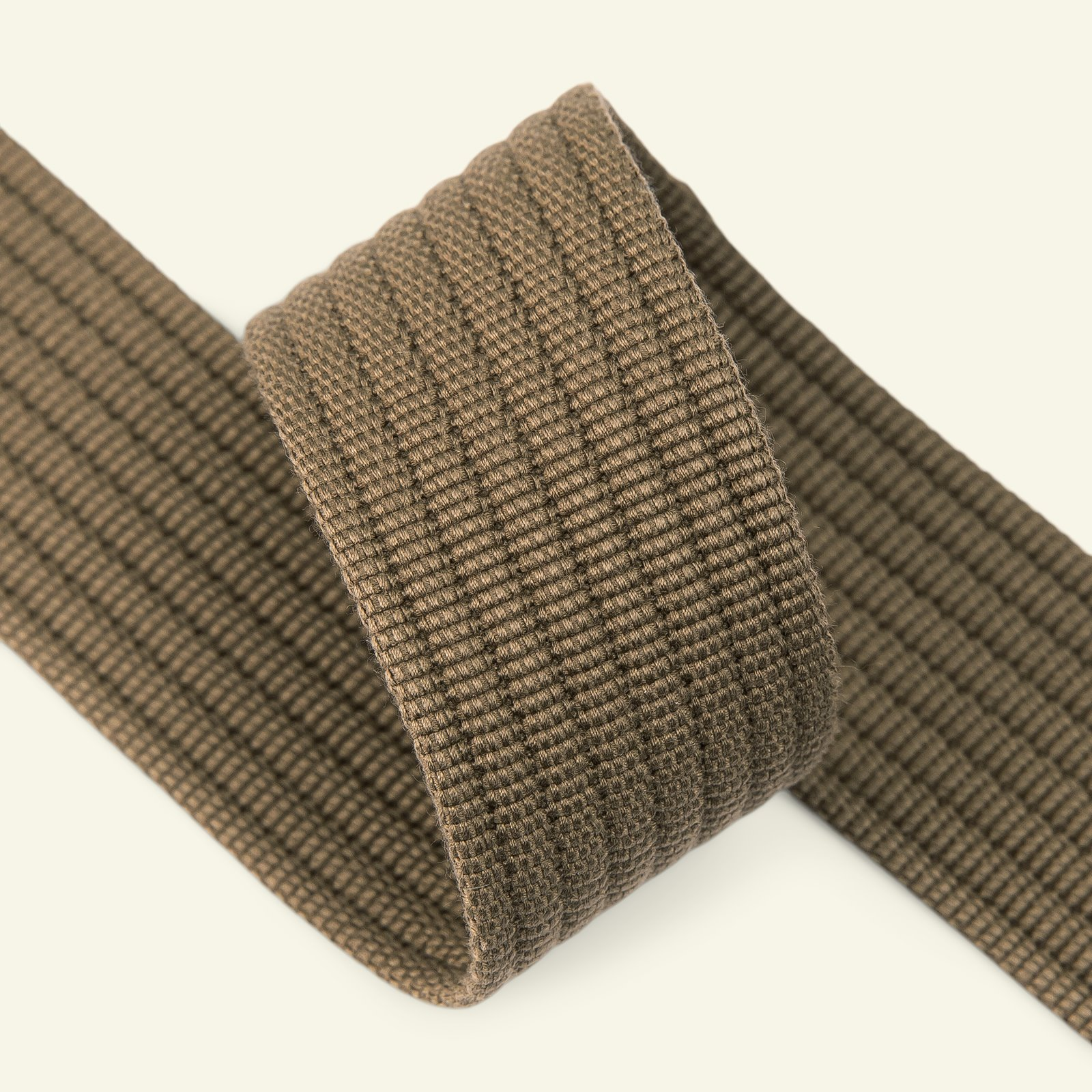 Ribbon woven 40mm olive 2m 22405_pack