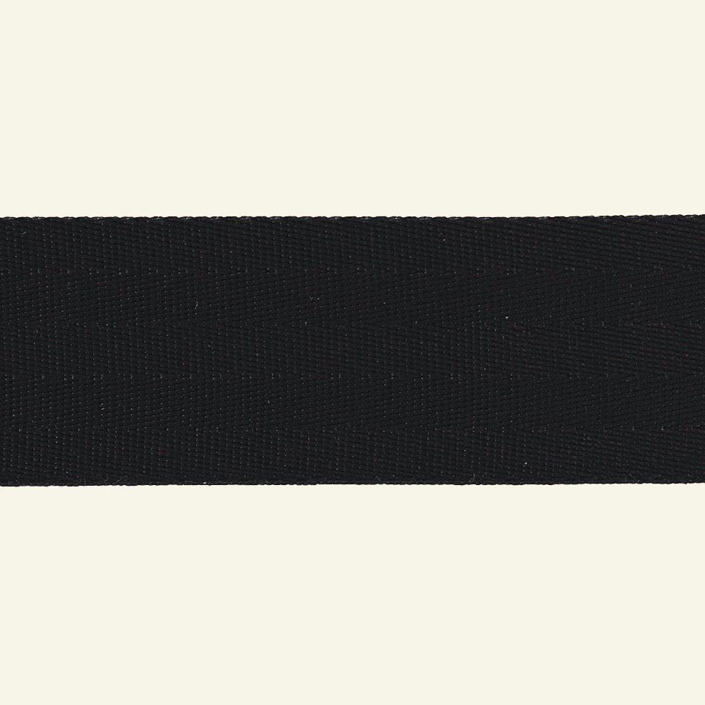 Ribbon woven nylon 38mm black 4m 80162_pack