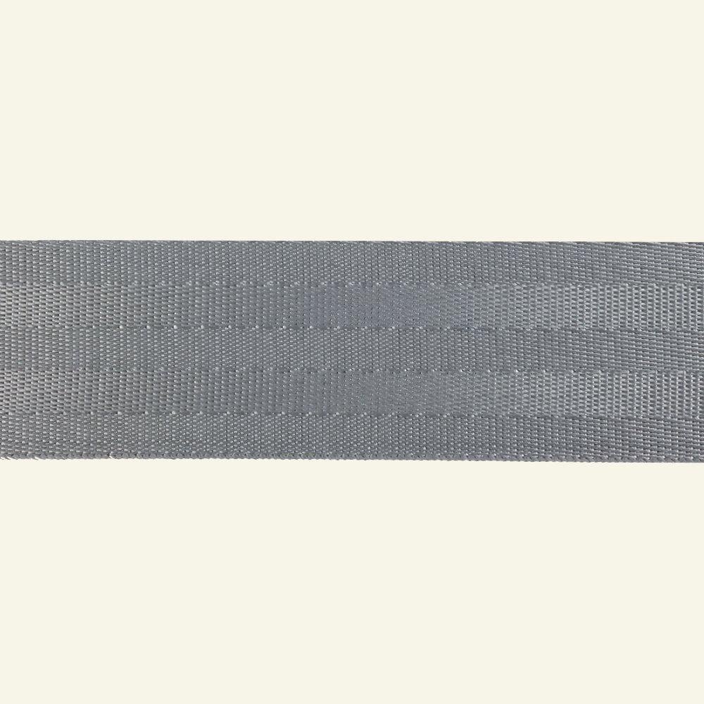 Ribbon woven nylon 38mm grey 4m 80182_pack