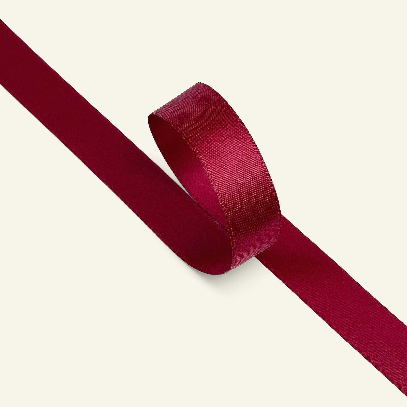 Satin ribbon 15mm bordeaux 5m 27214_pack