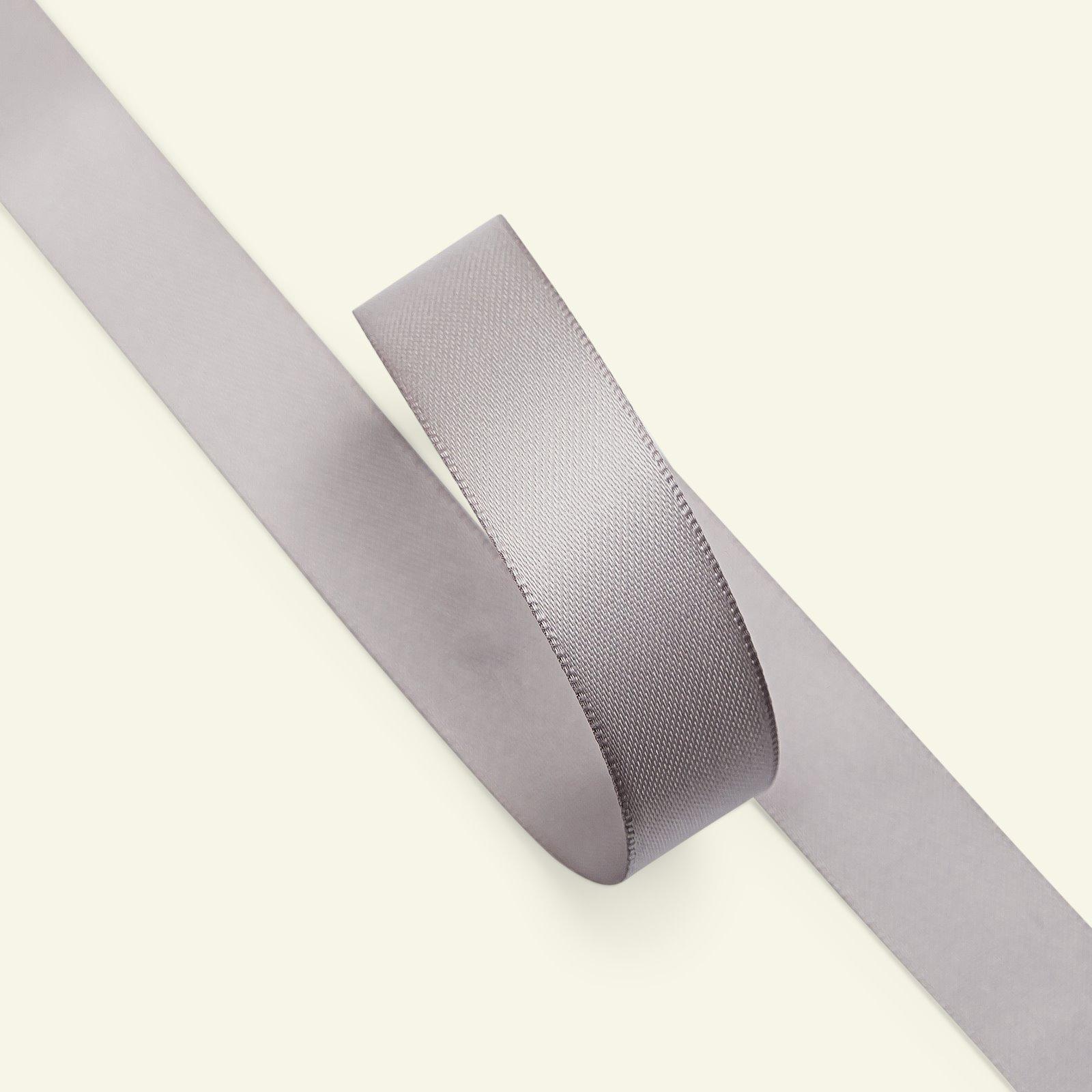 Satin ribbon 15mm grey 5m 27241_pack