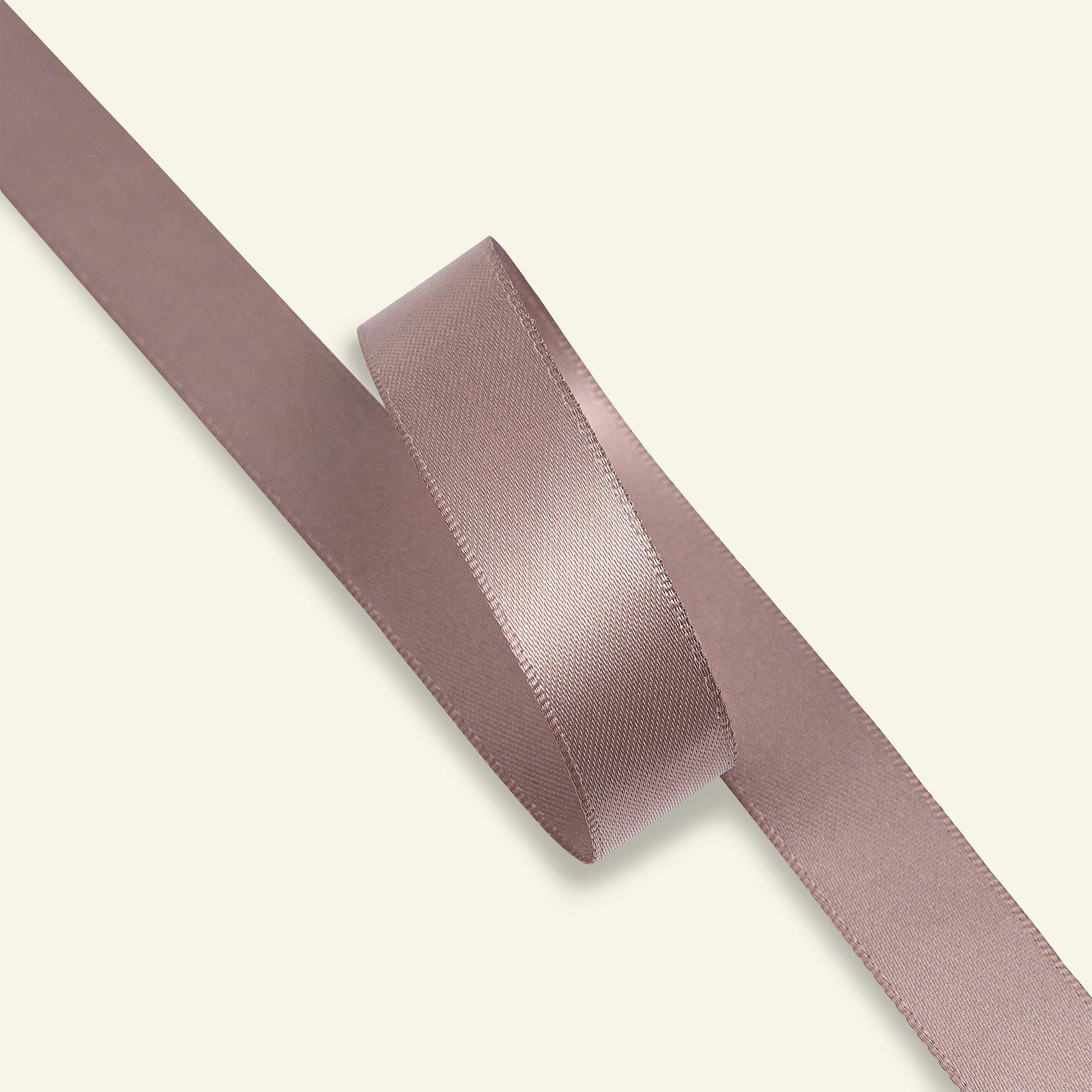 Satin ribbon 15mm light heather 25m 27377_pack