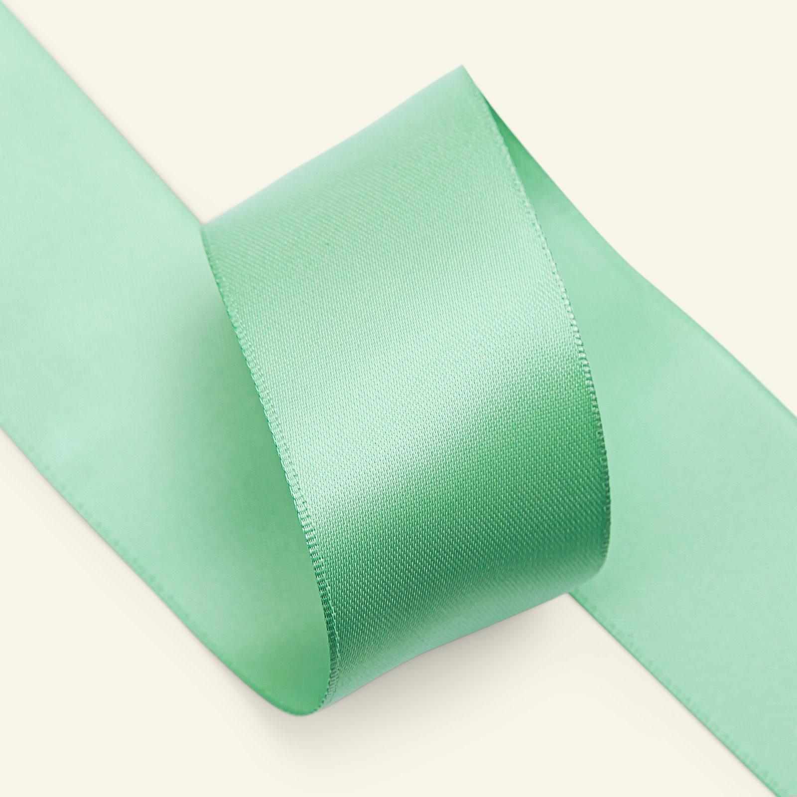 Satin ribbon 38mm dusty green 5m 27486_pack