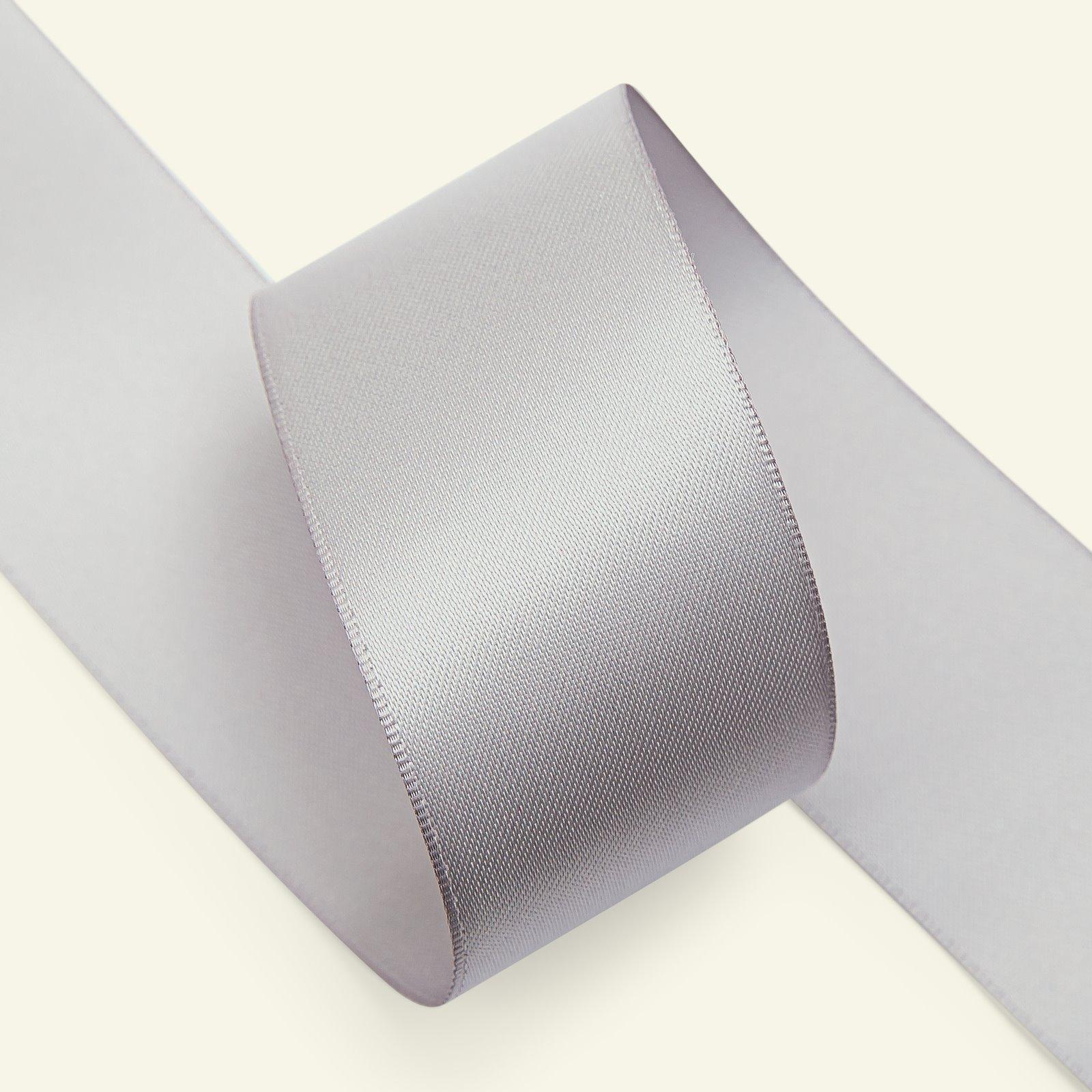 Satin ribbon 38mm grey 25m 27541_pack