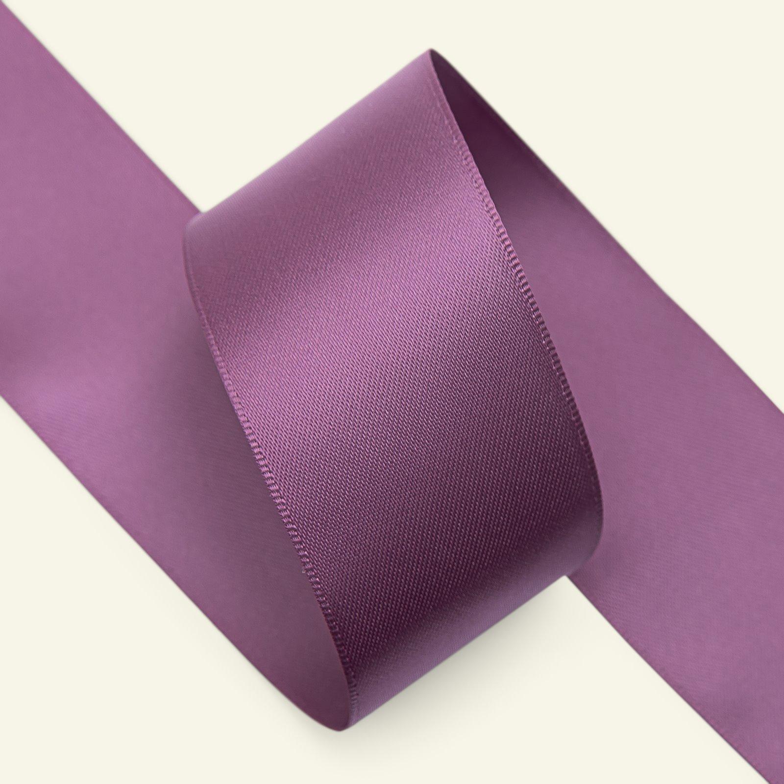 Satin ribbon 38mm heather 5m 27488_pack