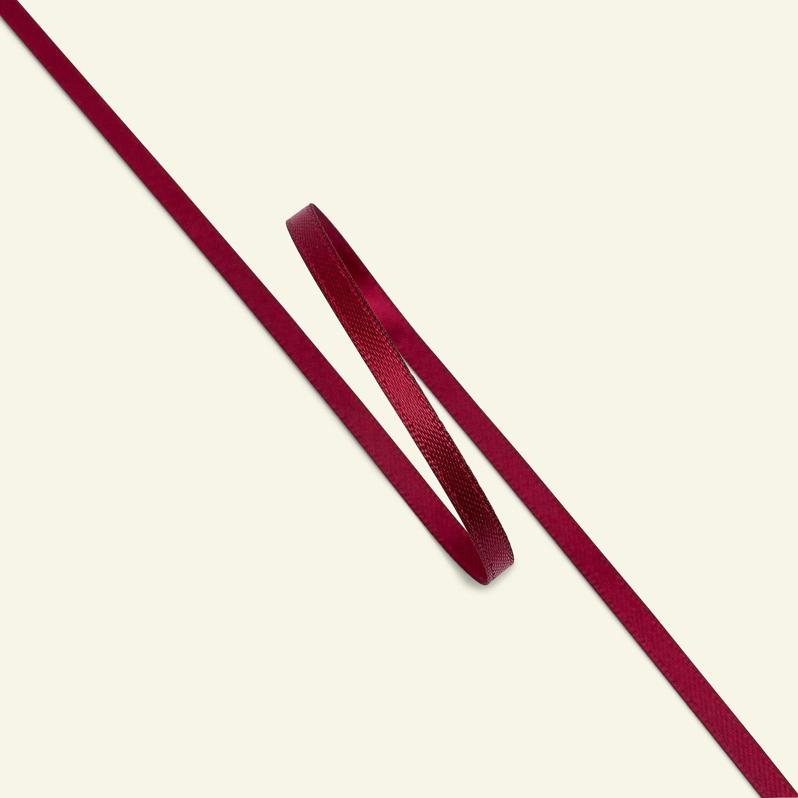 Satin ribbon 3mm bordeaux 25m 27114_pack