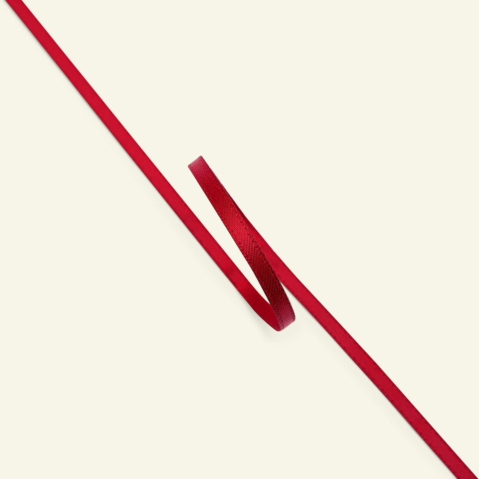 Satin ribbon 3mm wine red 25m 27113_pack