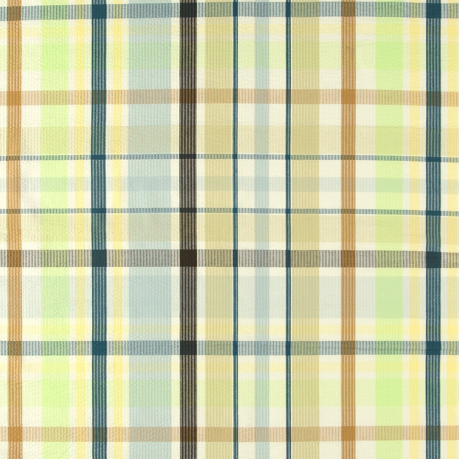 Seersucker blue/green yarn dyed check 580048_pack_sp