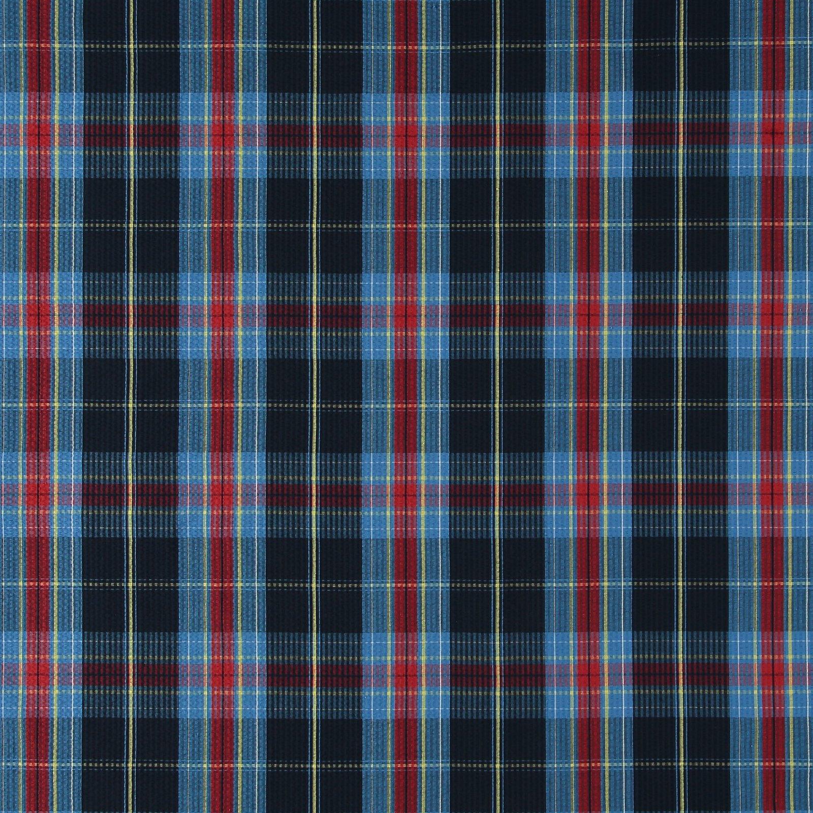 Seersucker blue/red yarn dyed check 580053_pack_sp