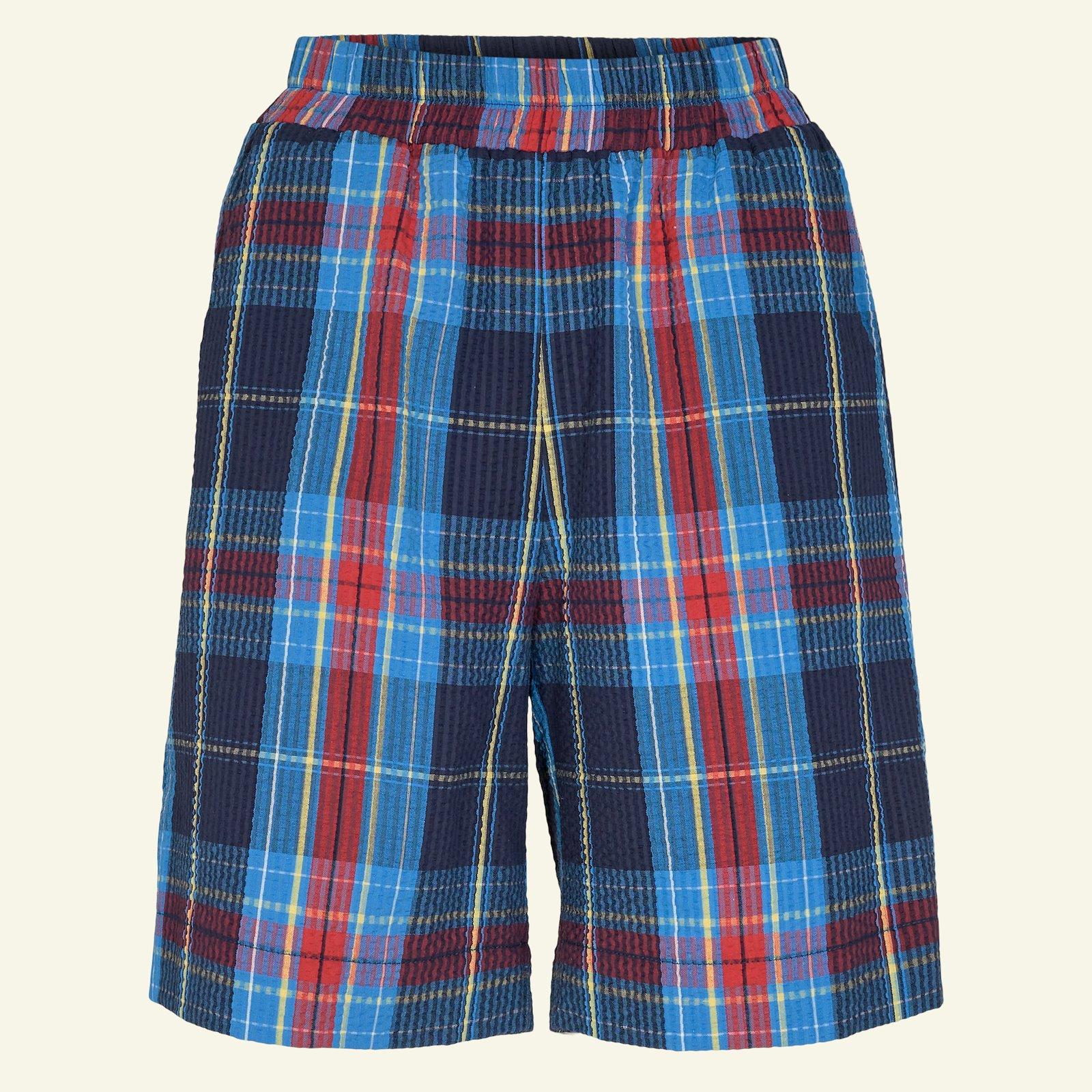 Seersucker blue/red yarn dyed check p20051_580053_sskit