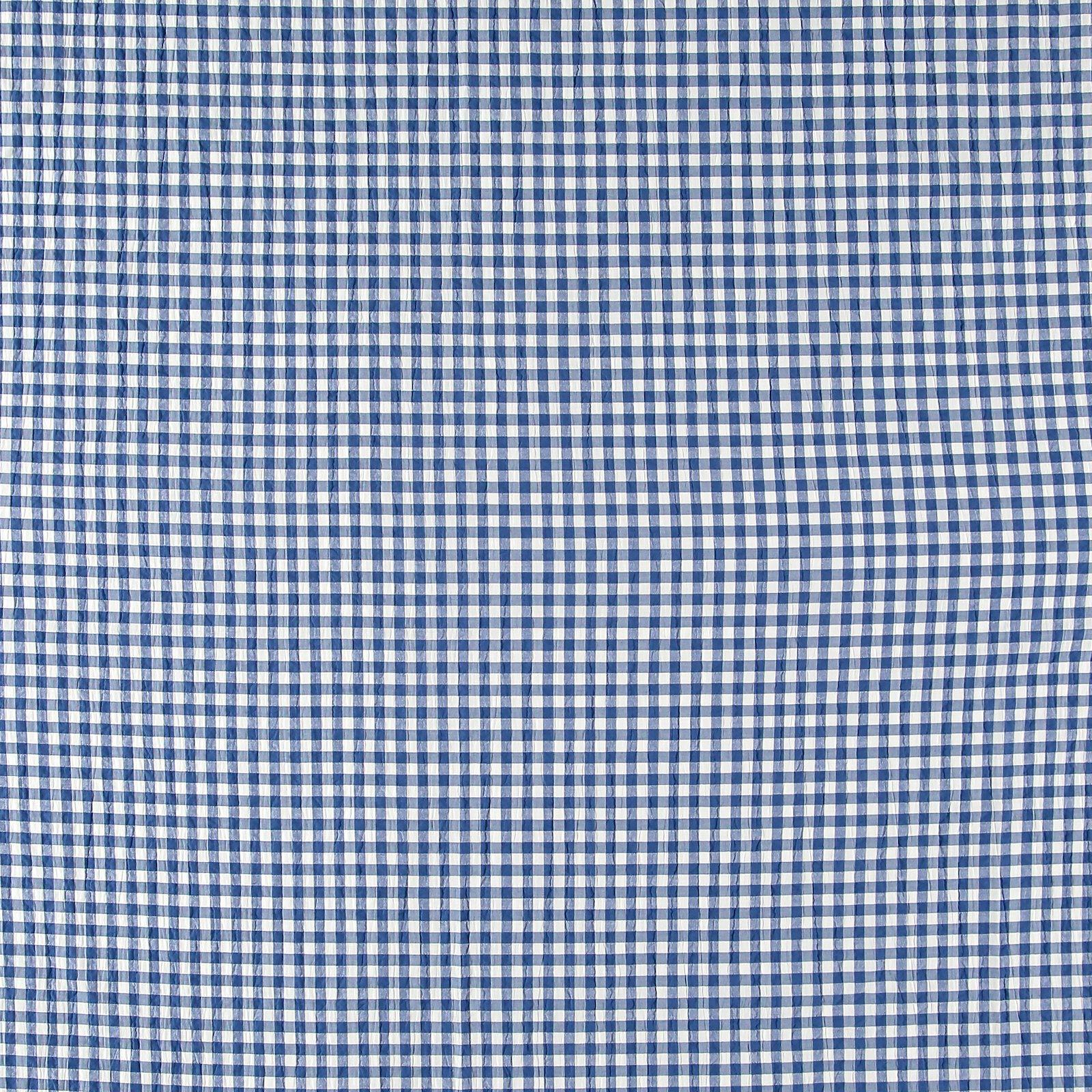 Seersucker blue yarn dyed check 510958_pack_sp