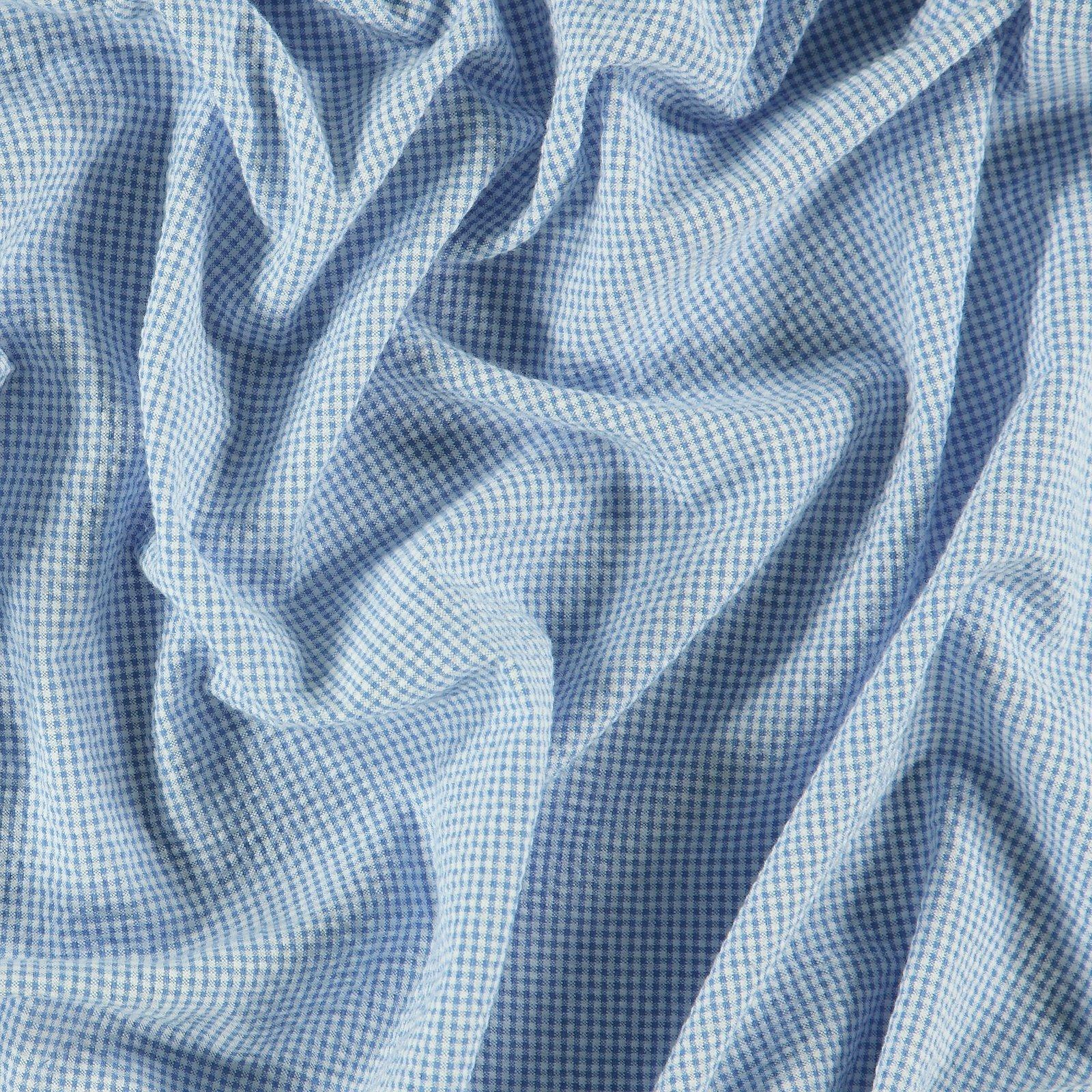 Seersucker bright blue/white YD check 510532_pack