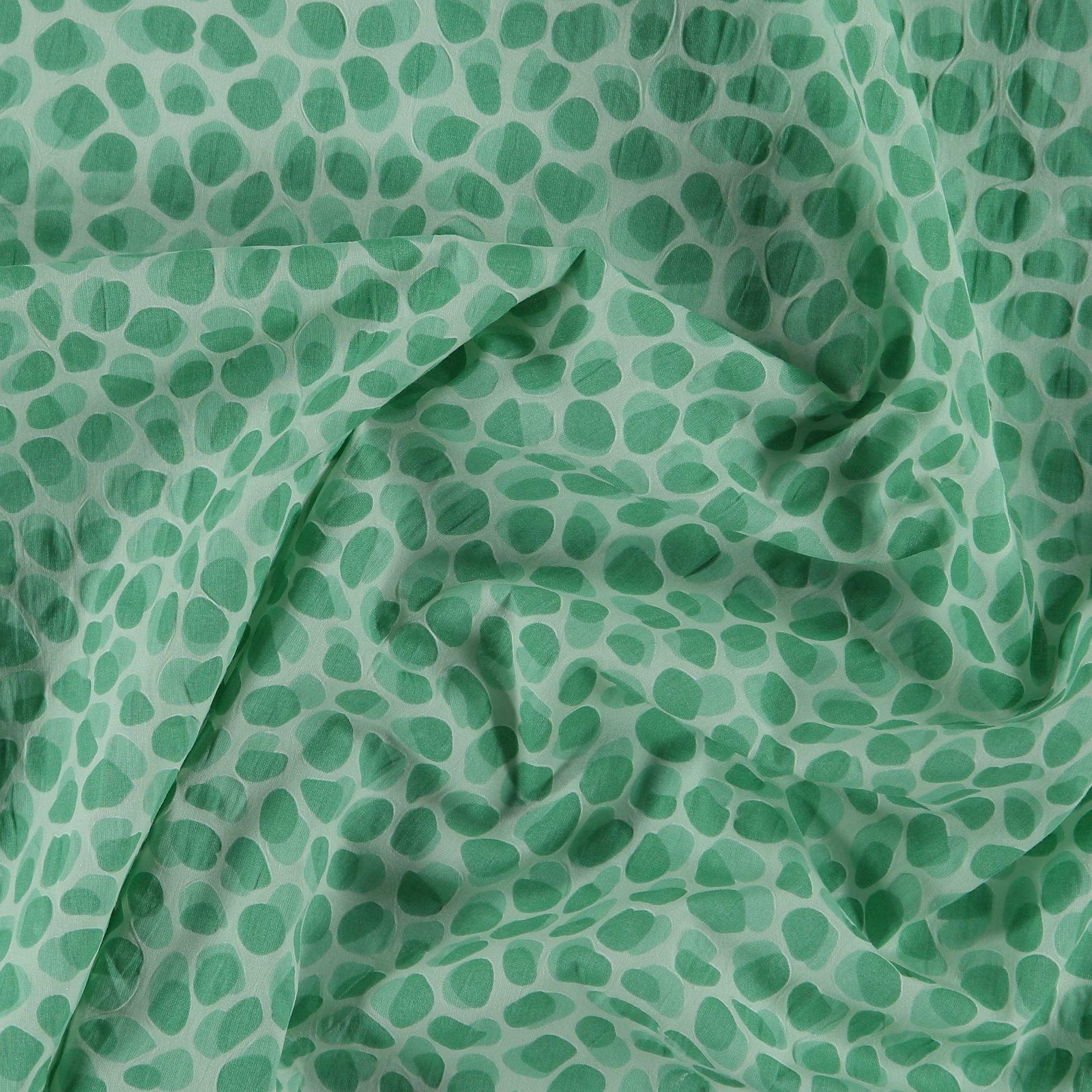 Seersucker light green with dots 580066_pack
