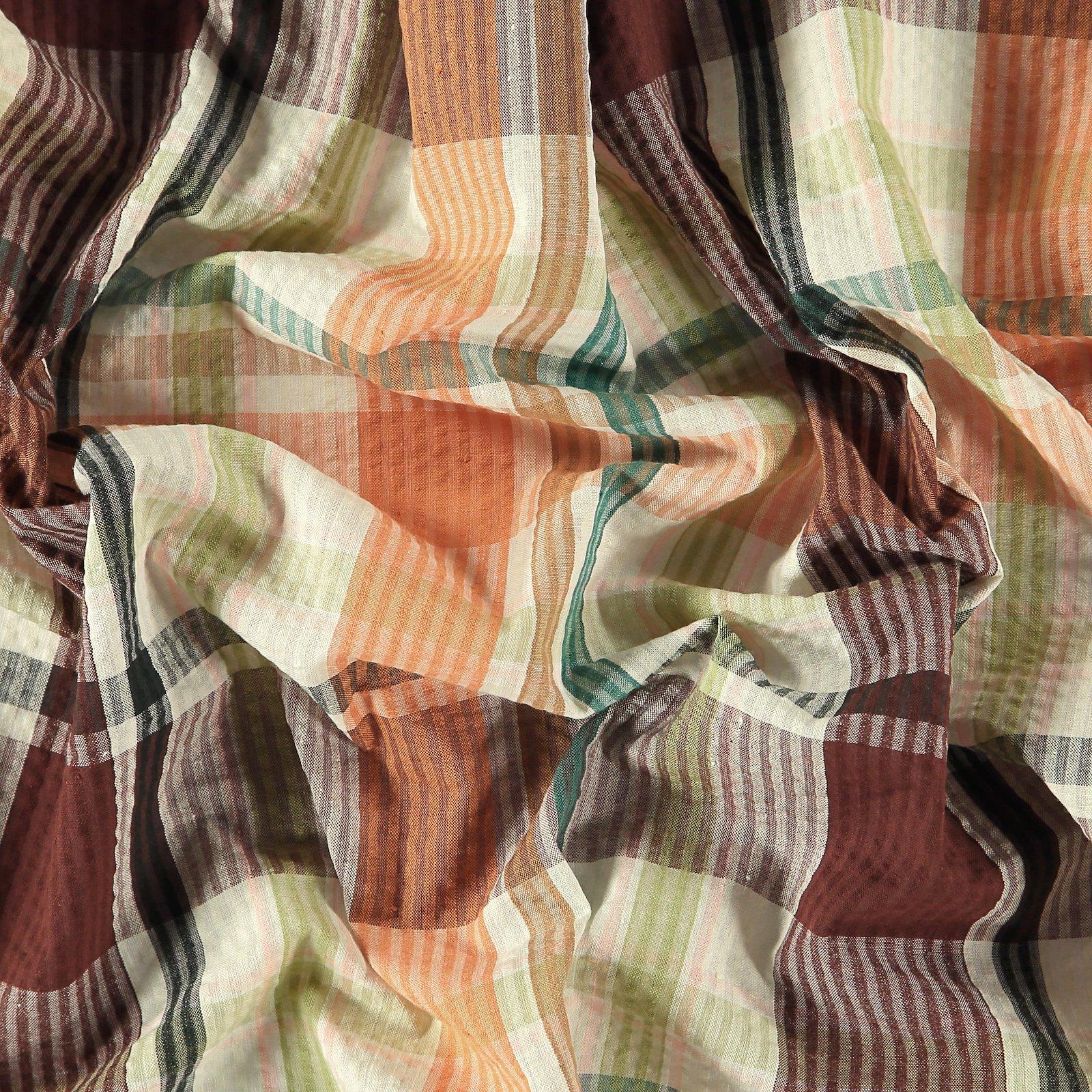 Seersucker multicolored yarn dyed check 580049_pack