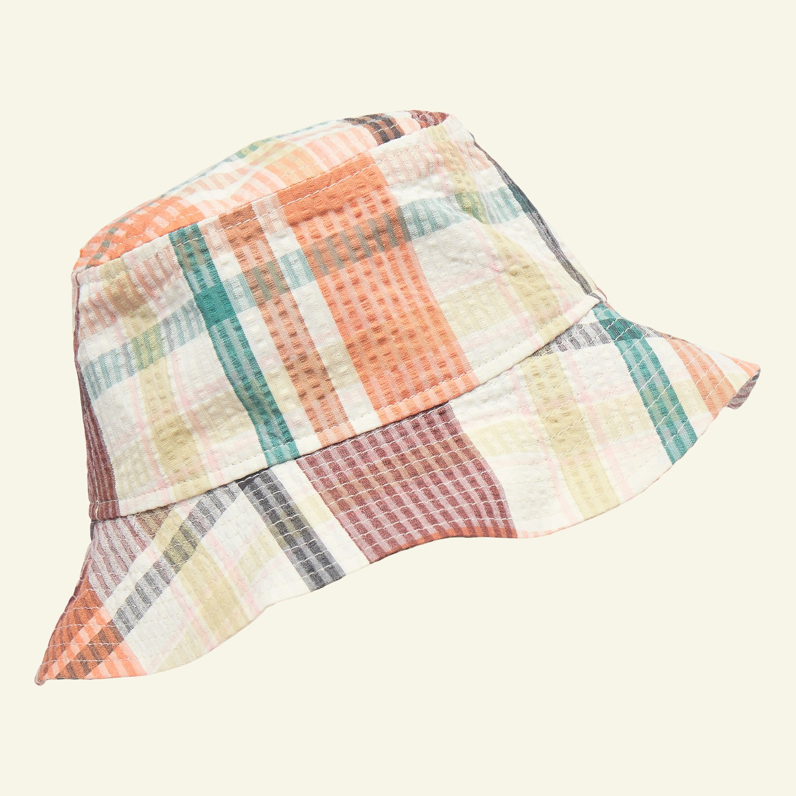 Seersucker multicolored yarn dyed check p90325_580049_sskit