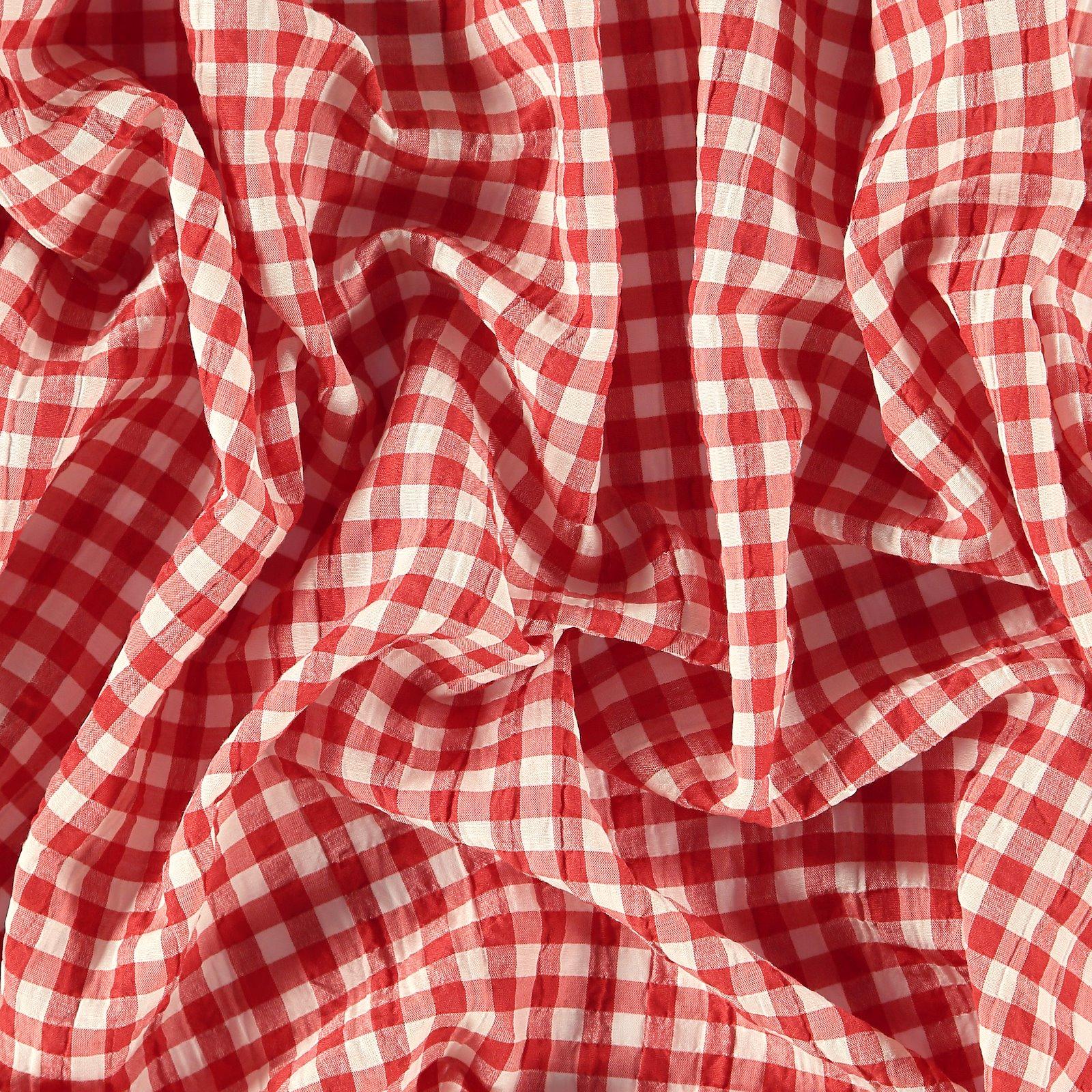 Seersucker red YD check 510963_pack