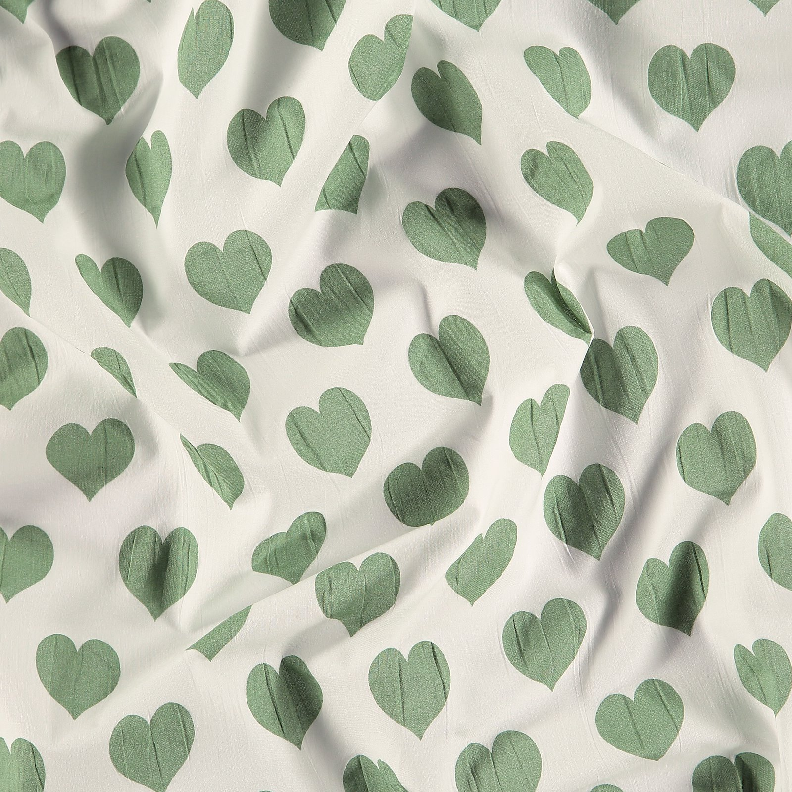 Seersucker white with mint hearts 580062_pack