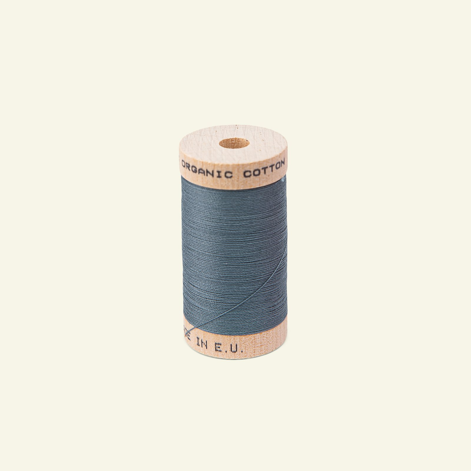 Sewing thread organic cotton blue 100m 18021_pack