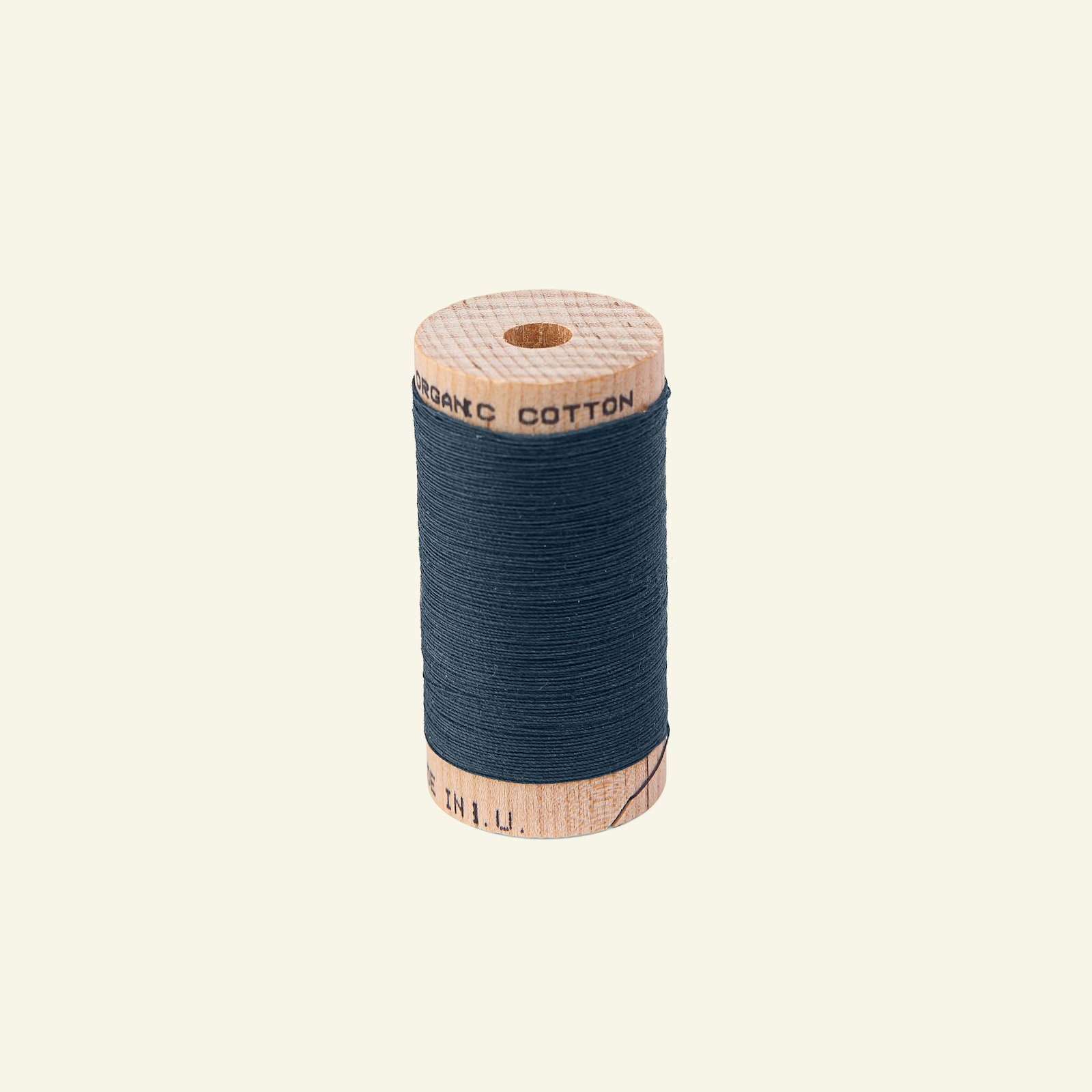Sewing thread organic cotton navy 100m 18023_pack