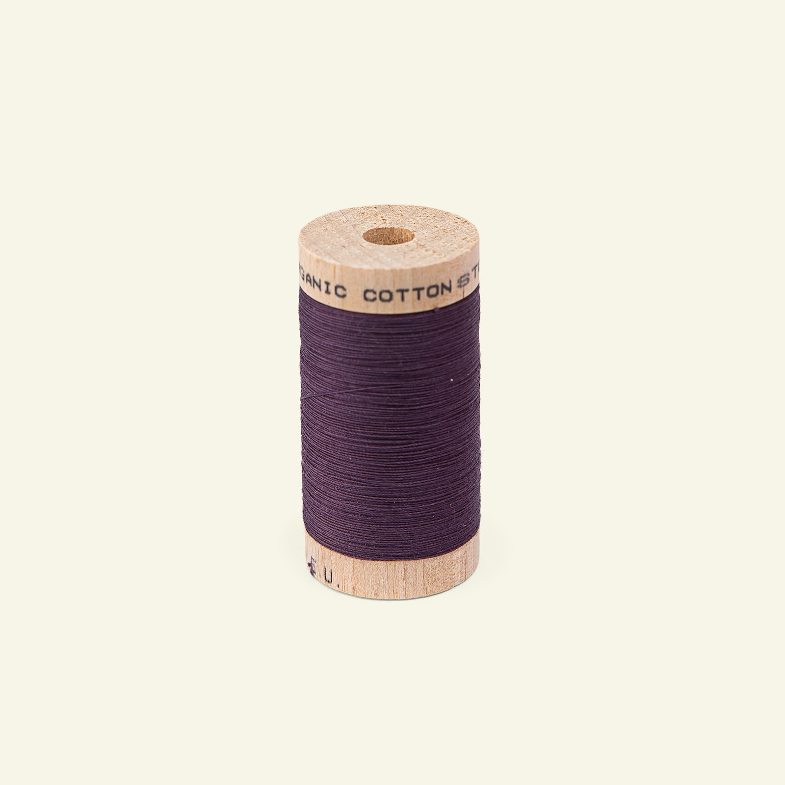 Sewingthread organic cotton dk plum 100m 18017_pack