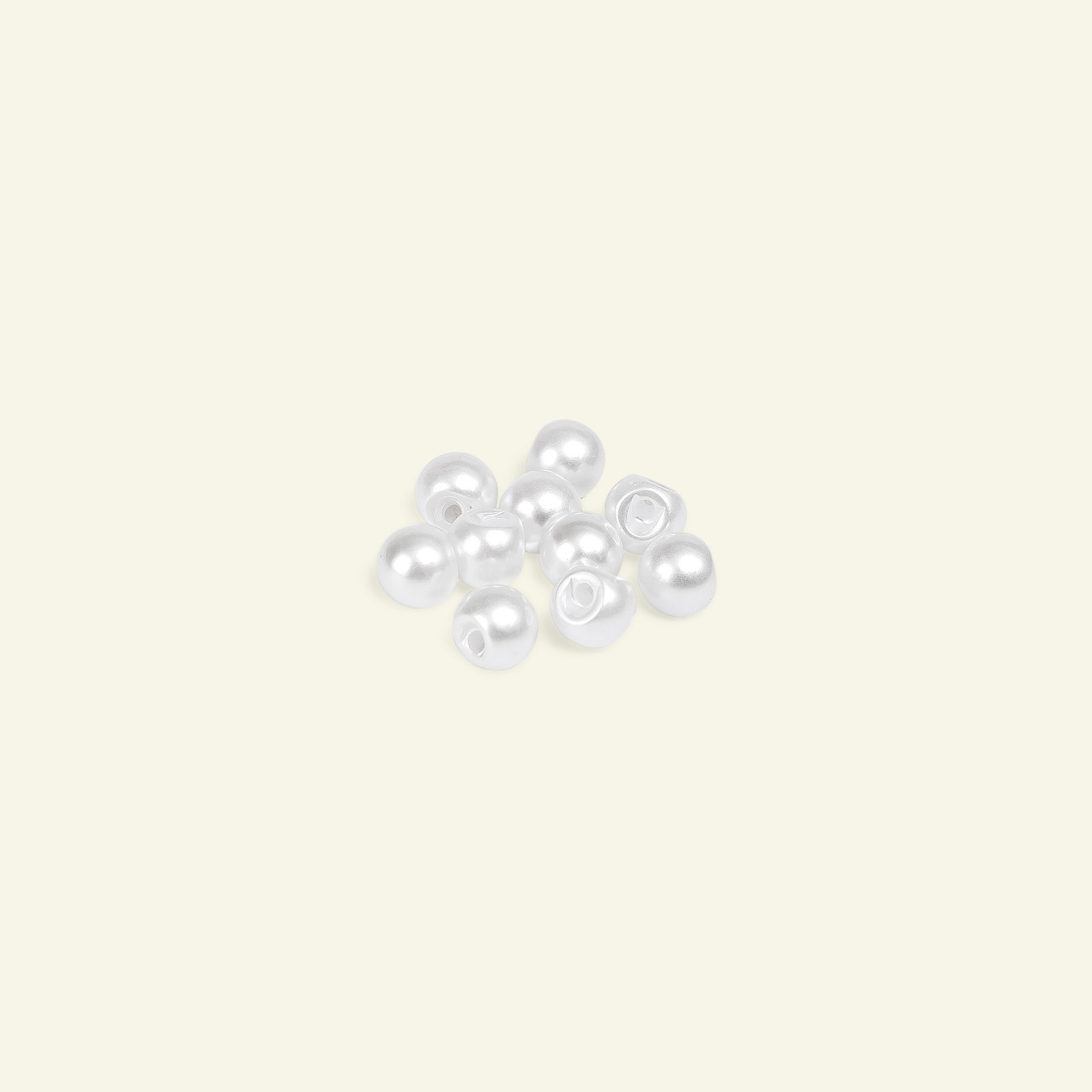 Shank button 7,6mm mother of pearl 10pcs 40551_pack
