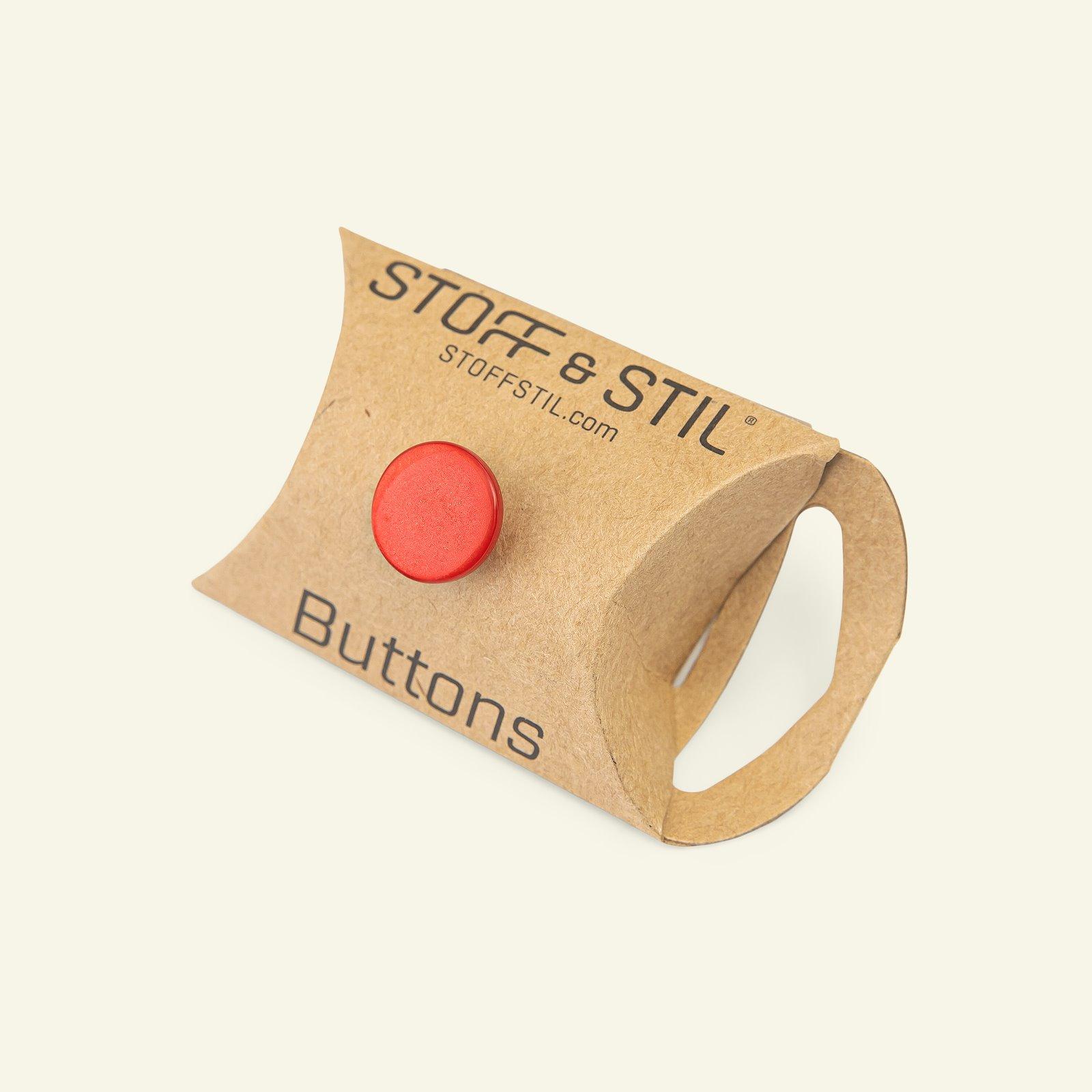 Shank button shiny 14mm red 6pcs 33334_pack_b