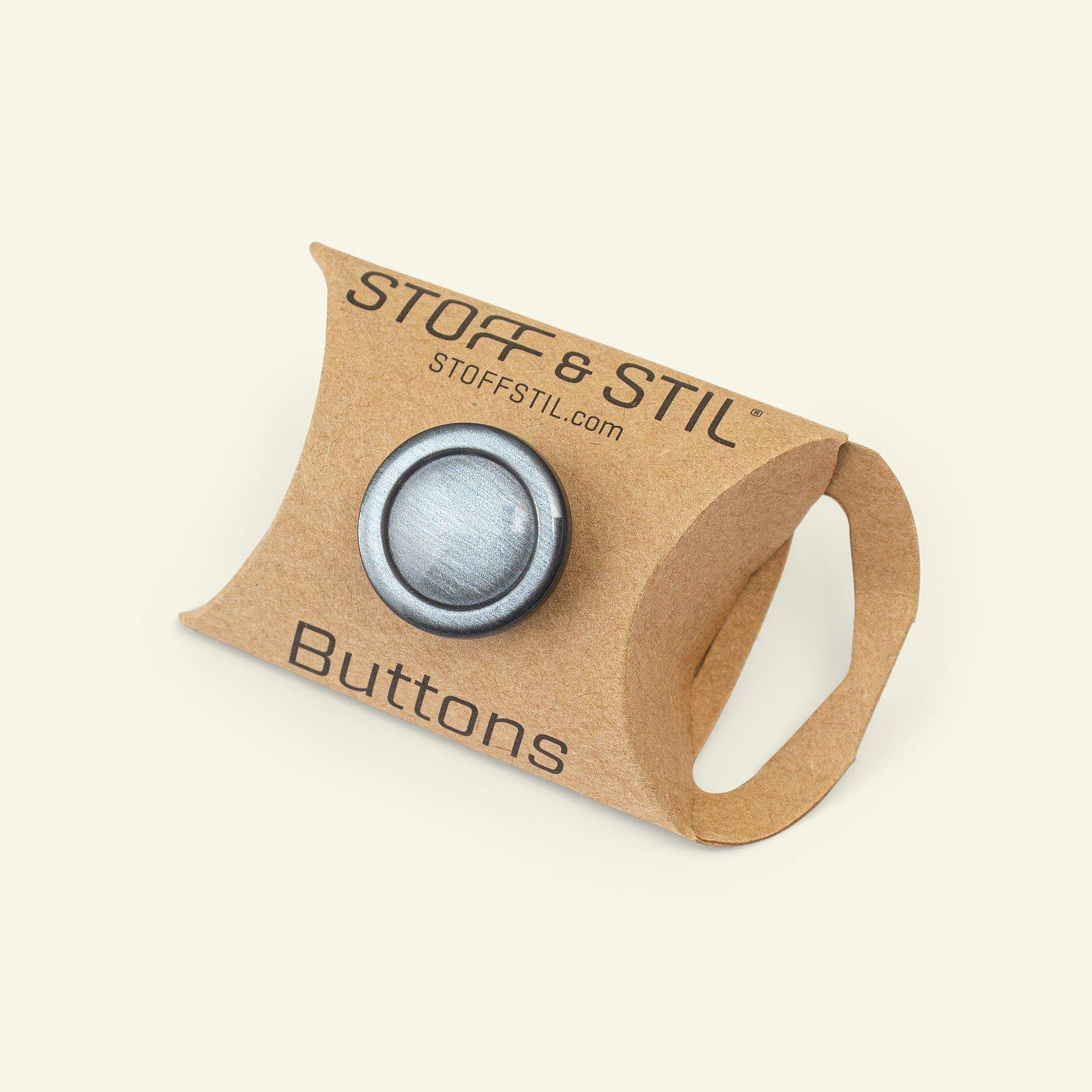 Shank button w/rim 20mm grey 6pcs 33194_pack_b