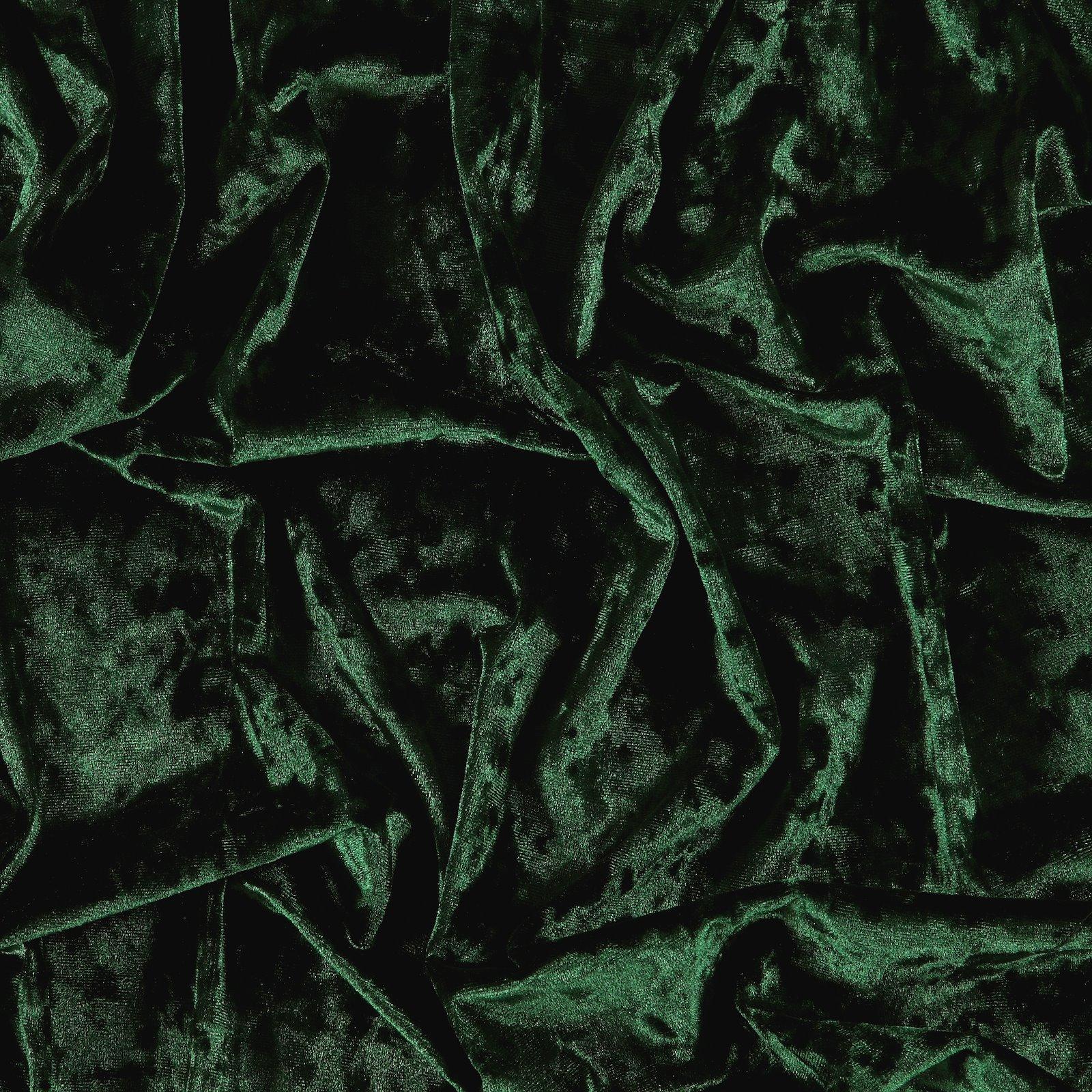 Shiny str velvet w structure bottlegreen 250678_pack