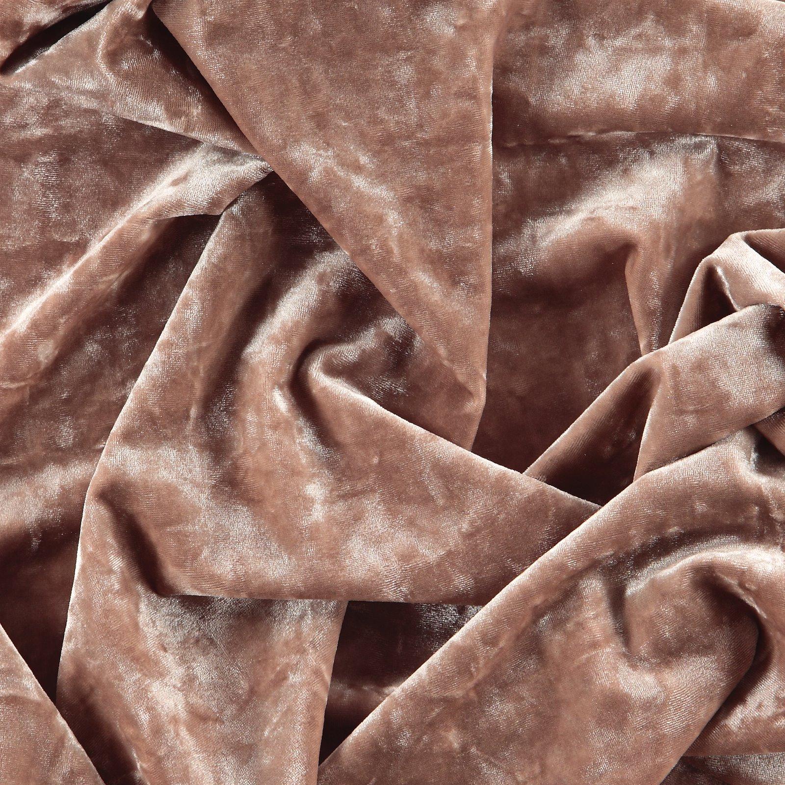 Shiny stretch velvet w structur powder 250641_pack