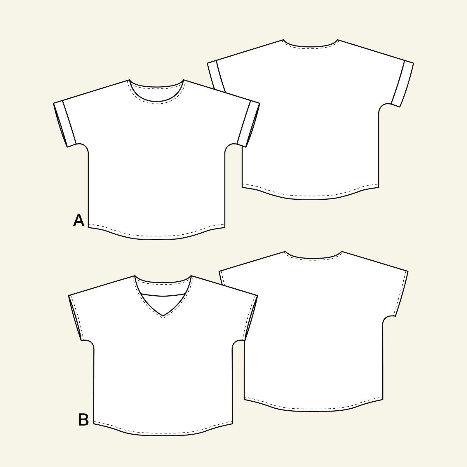 Short sleeved blouse, 38/10 p22065_pack