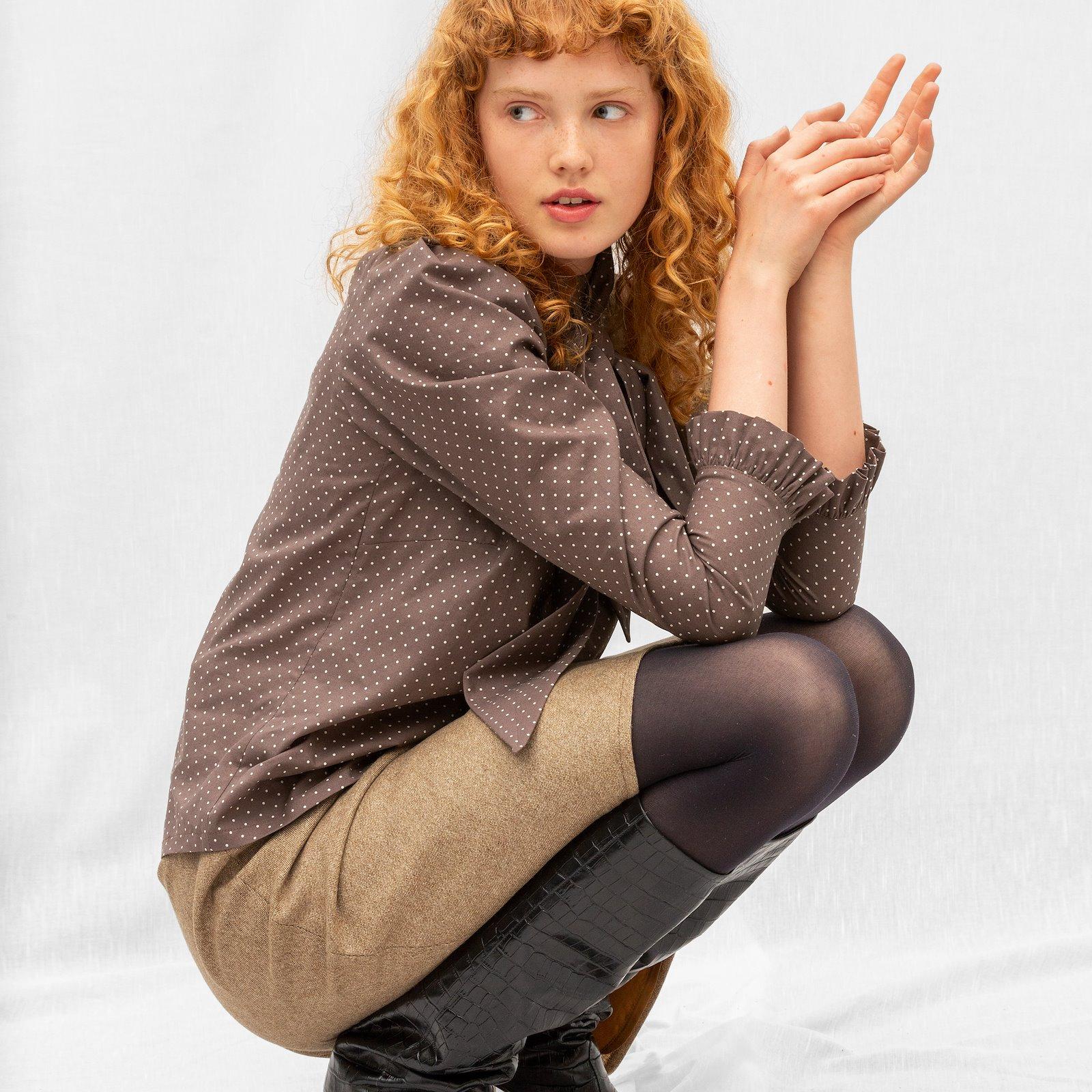 Skirt with A-shape, 38/10 p22075_852396_p21038_300227__sskit