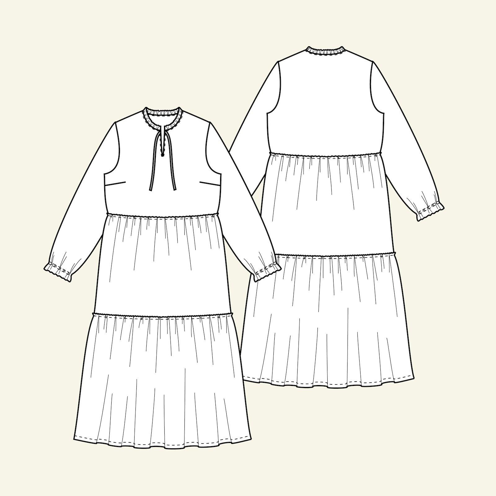 Smock dress, 38/10 p23159_pack