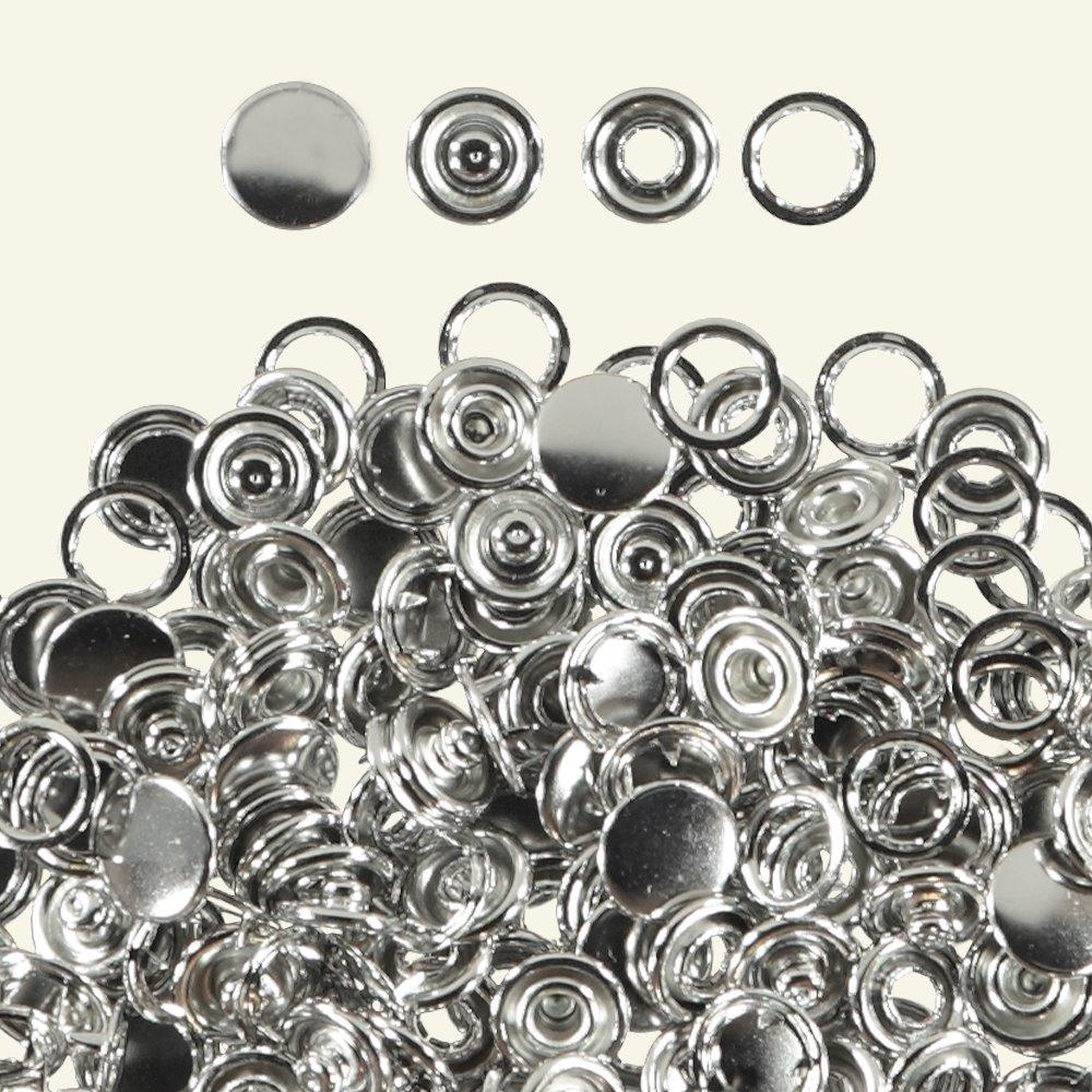 Snap button w/cape 12mm 50set 45029_pack