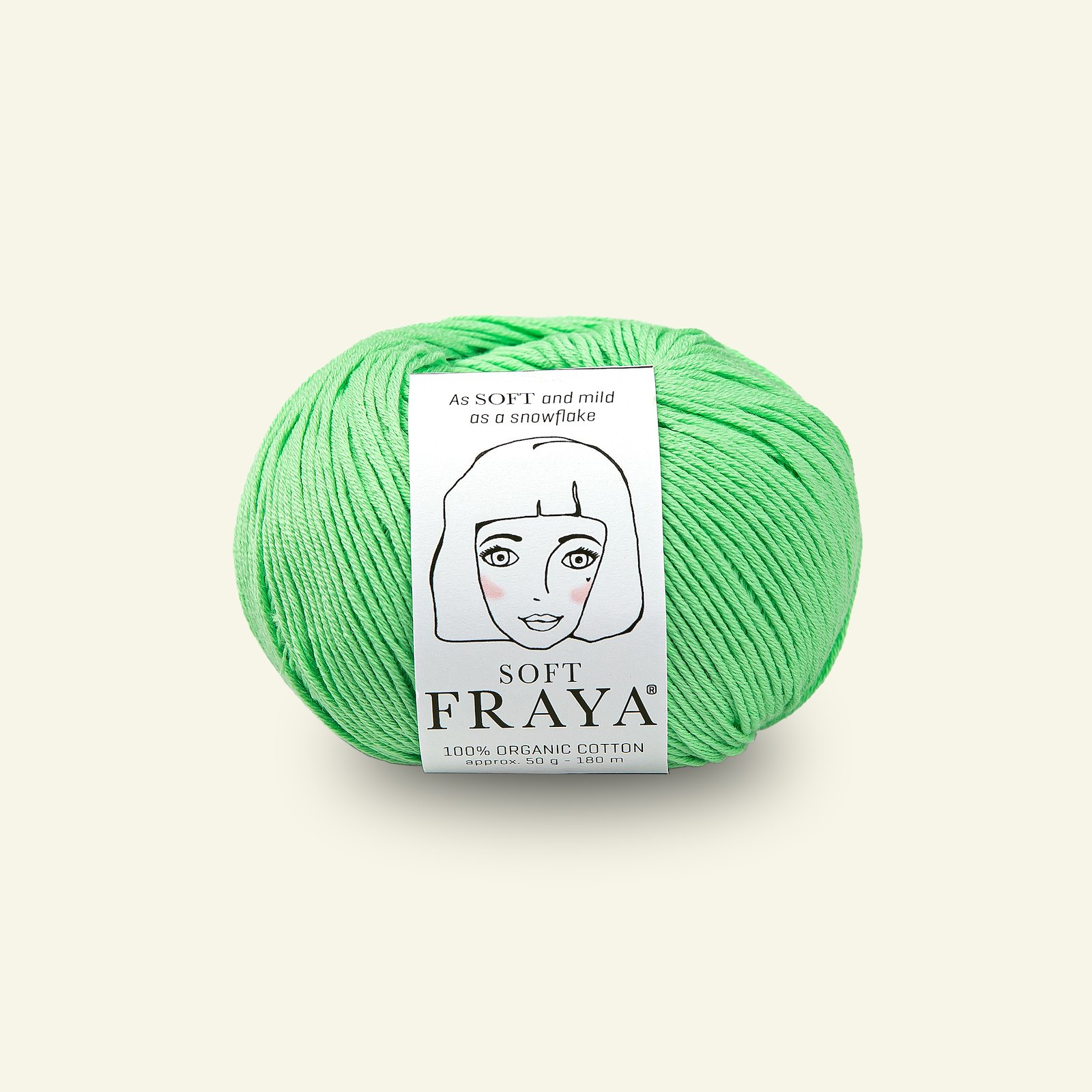Soft 50g, bright green 90000085_pack