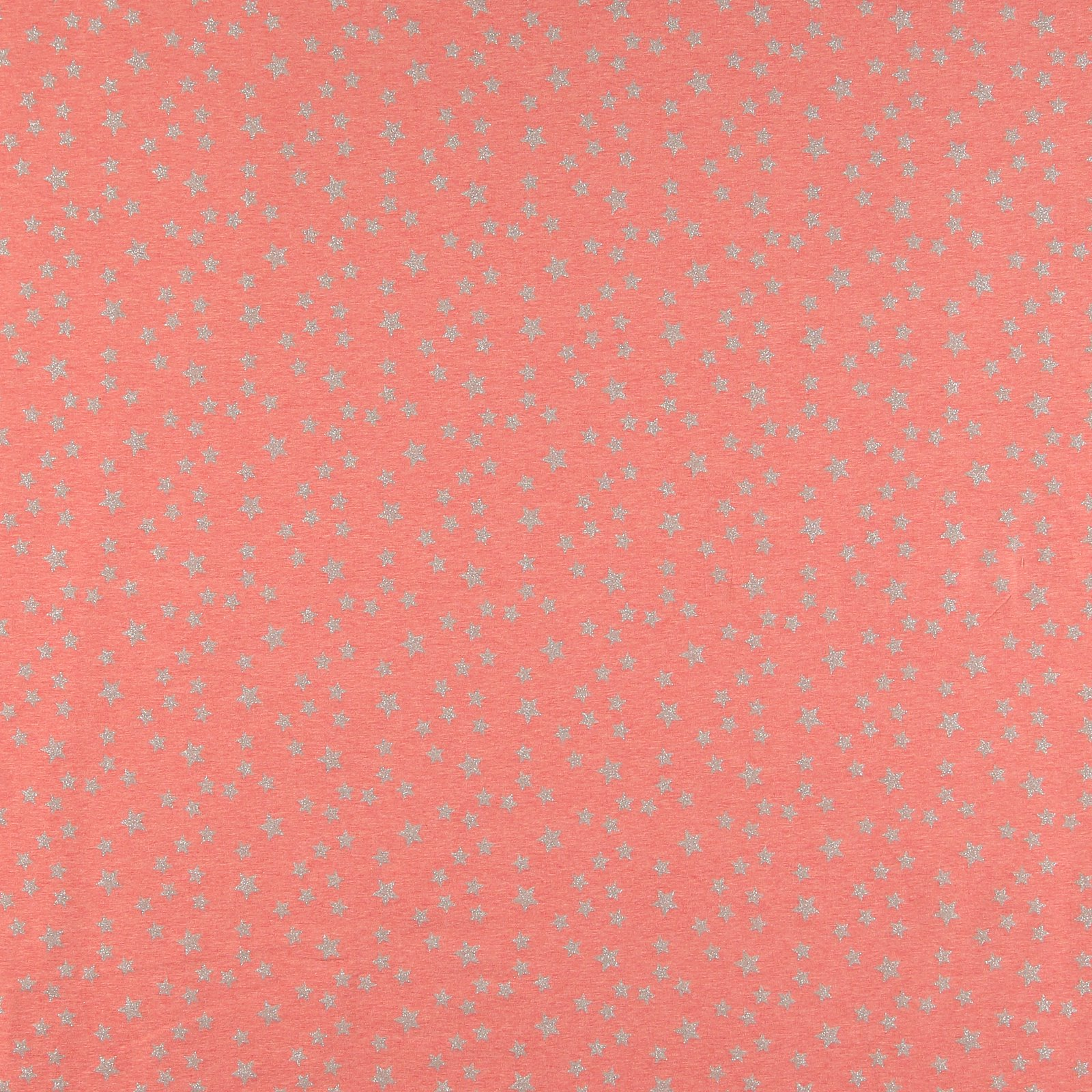 Stretch jersey coral w silver stars 271532_pack_sp