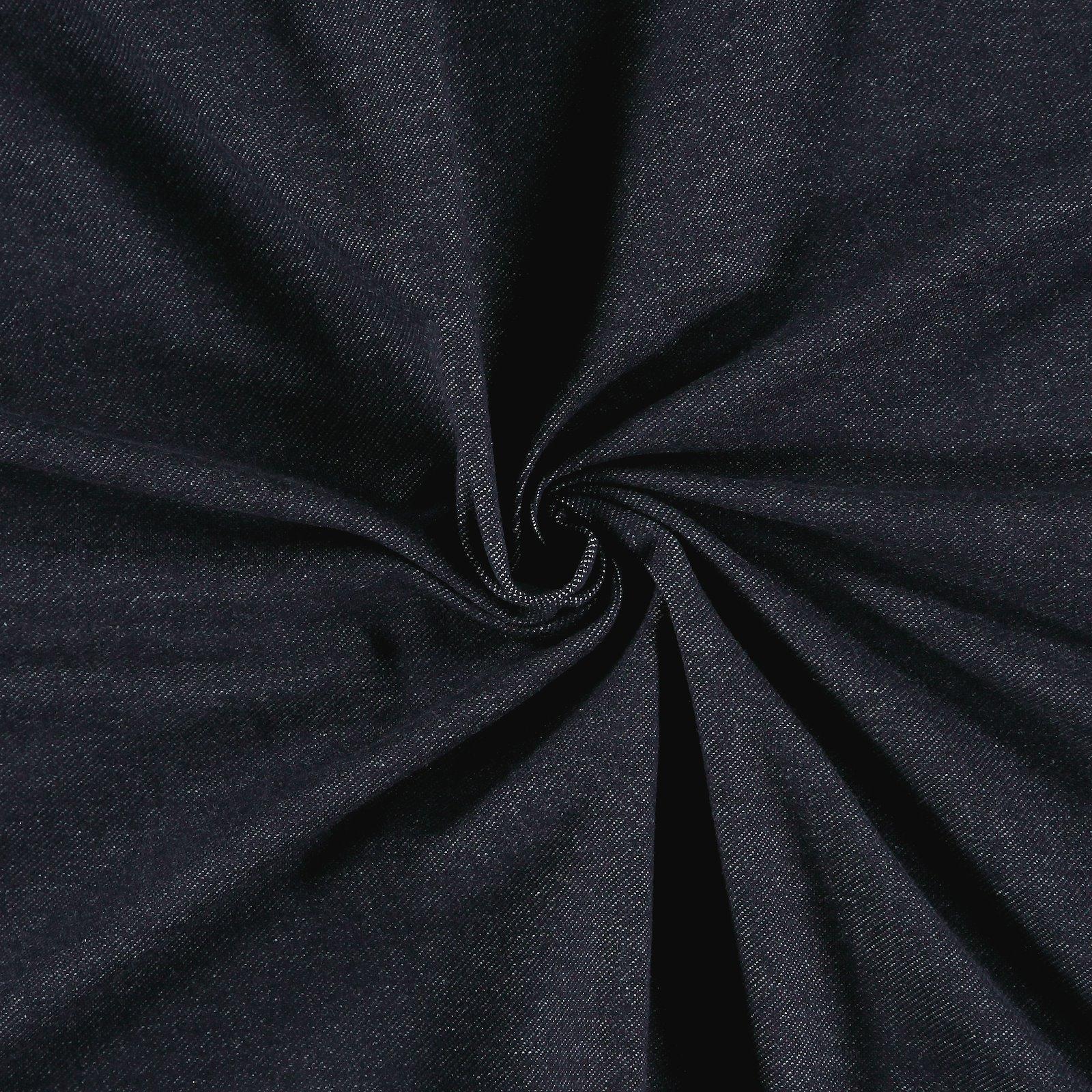 Stretch-Jersey Denimlook, Dunkelblau 206141_pack