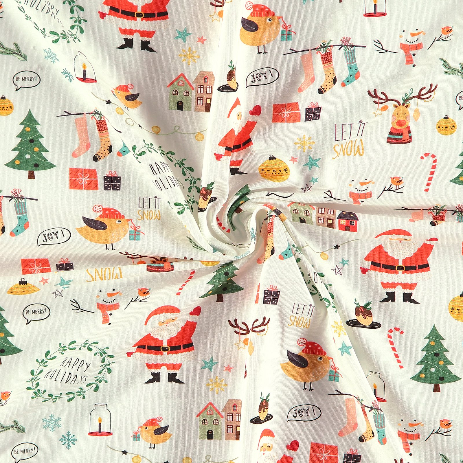 Stretch jersey nature w Christmas print 272273_pack