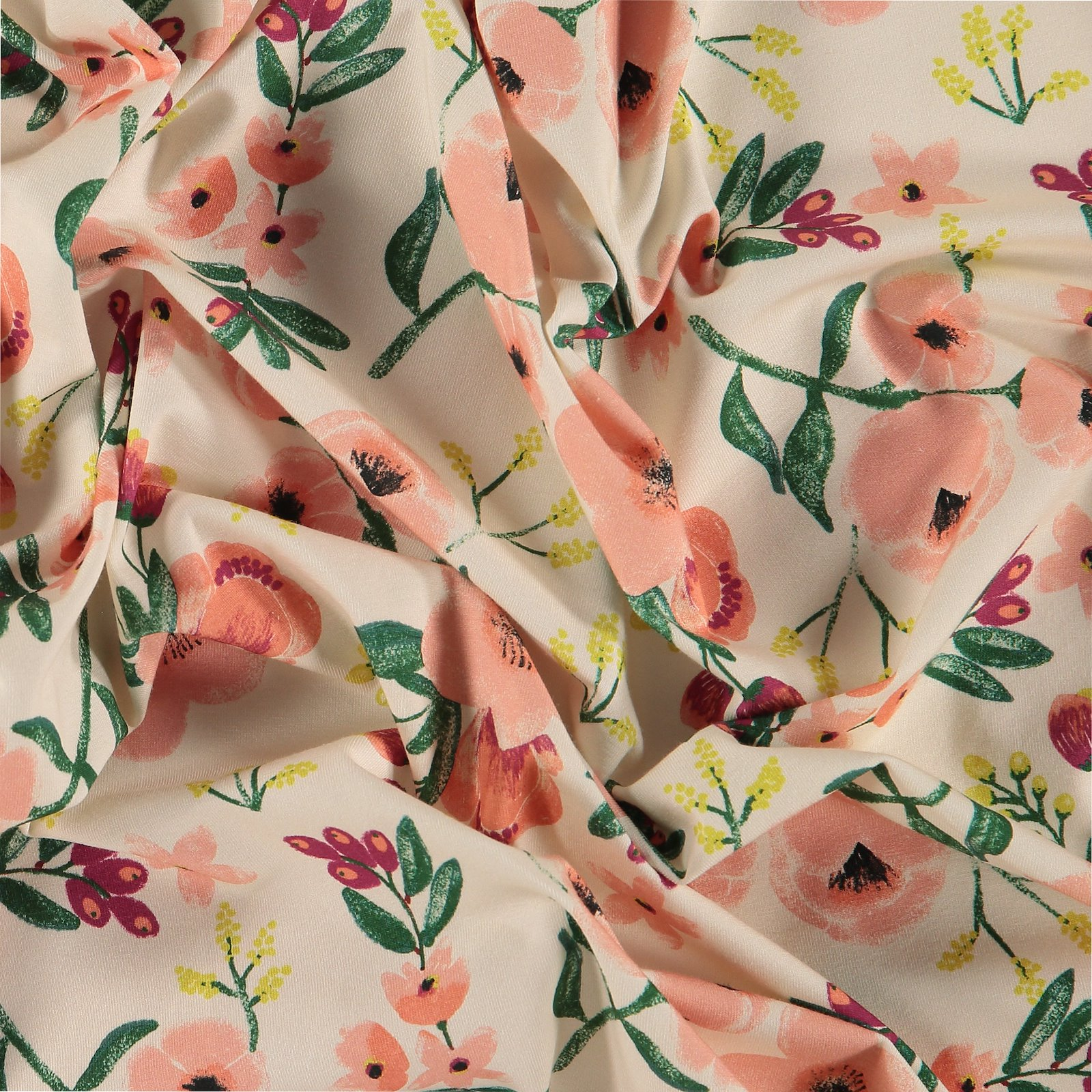 Stretch jersey nature with flower 272494_pack