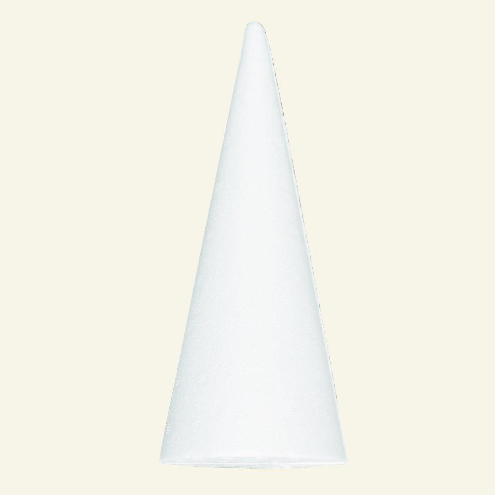 Styrofoam cone 80x190mm 39011_pack