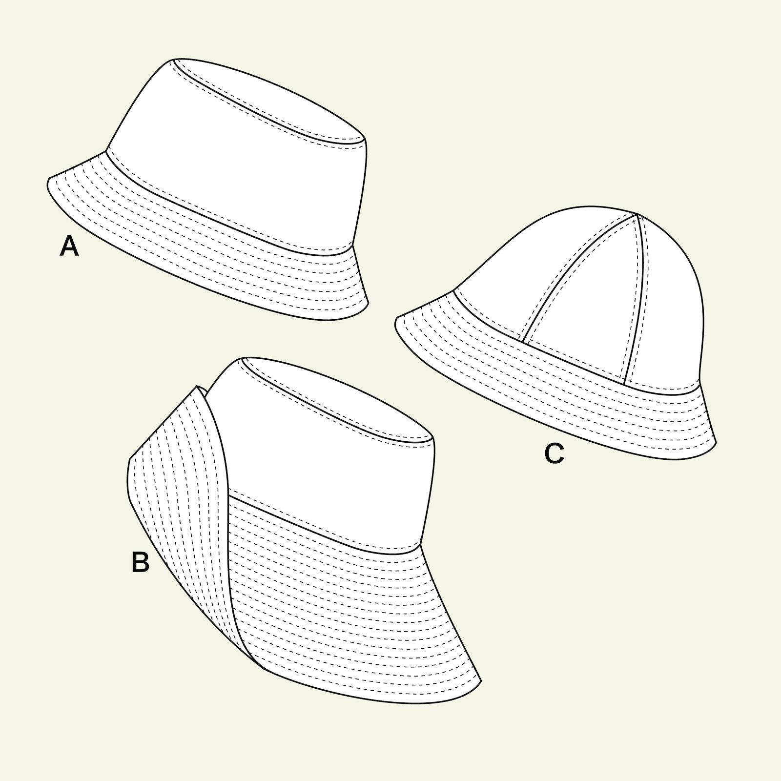 Sunhat, child/adult p90325_pack