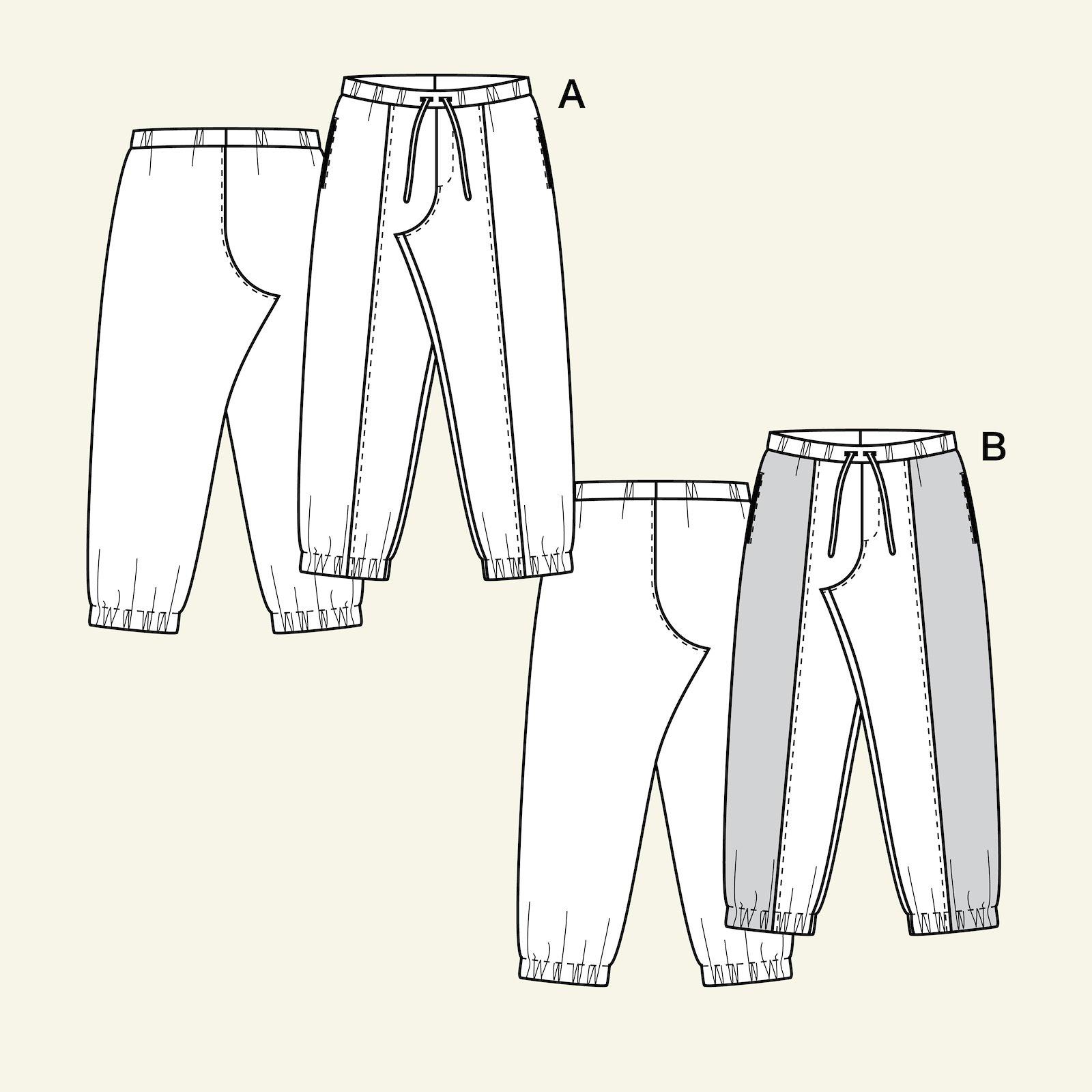 Sweat pants, 110/5y p60040_pack