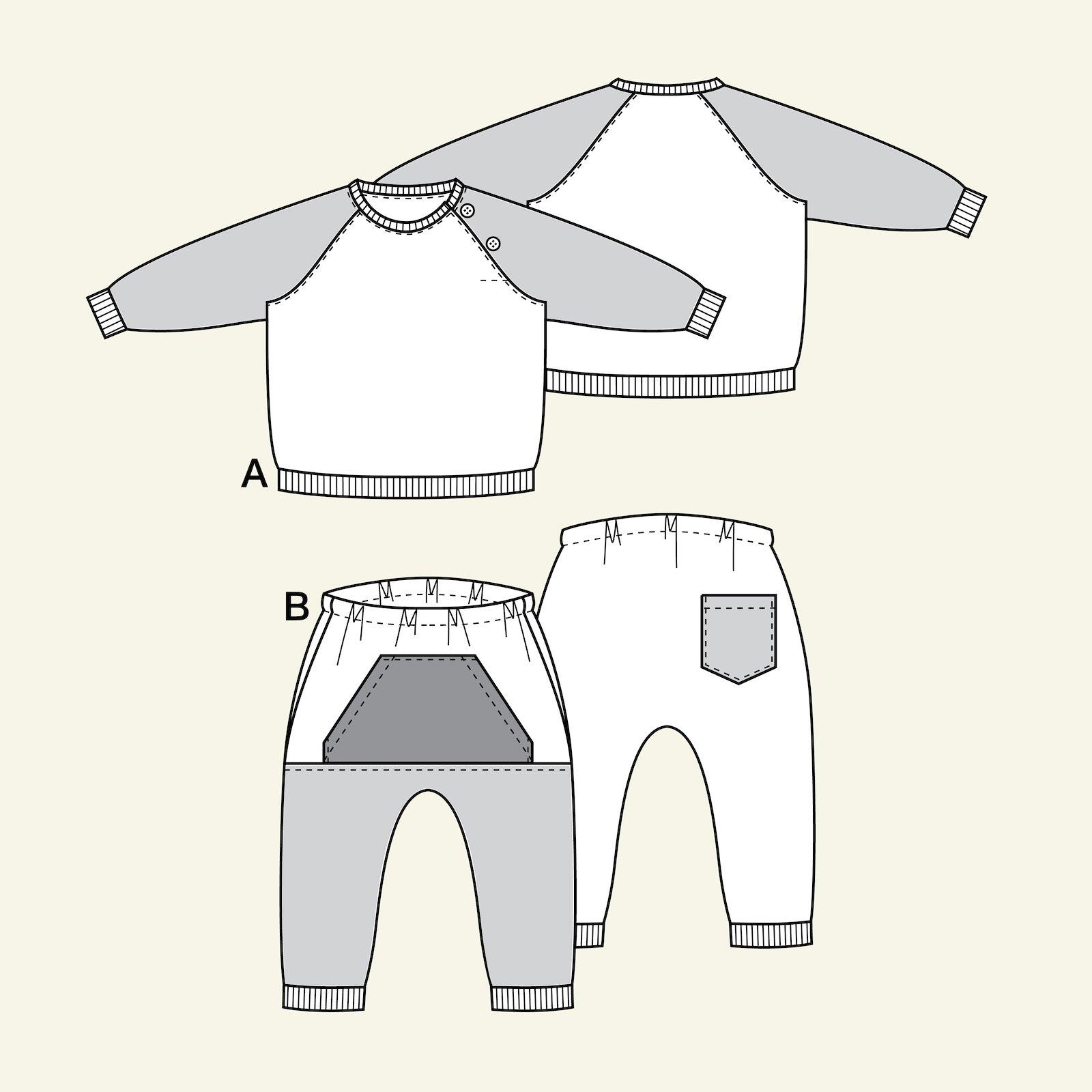 Sweatshirt and sweatpants, 98/3y p81029_pack