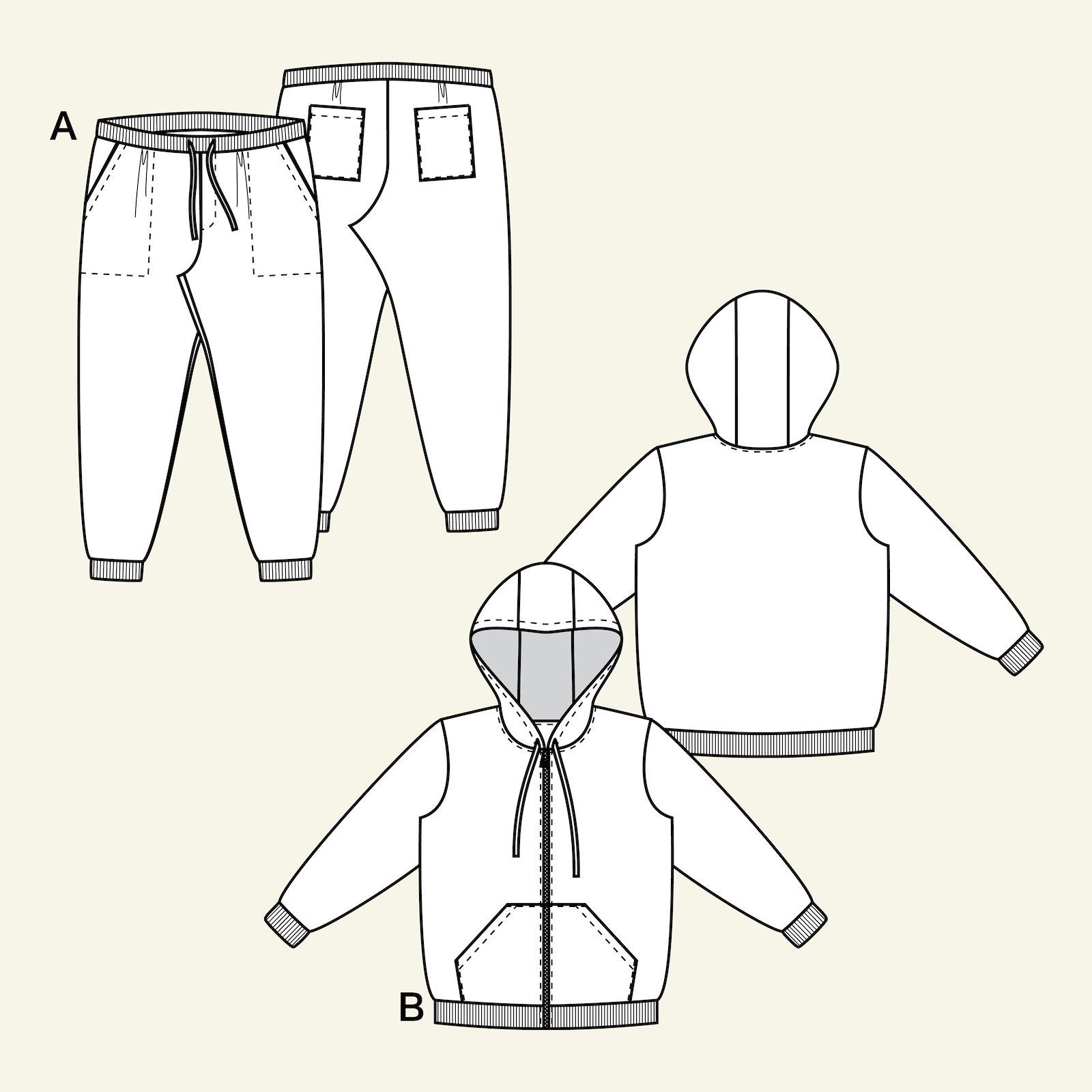 Sweatshirt og sweatpants, S p86001_pack